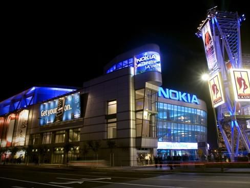 Nokia Theater In Los Angeles Holiday Inn Exress Hotel
