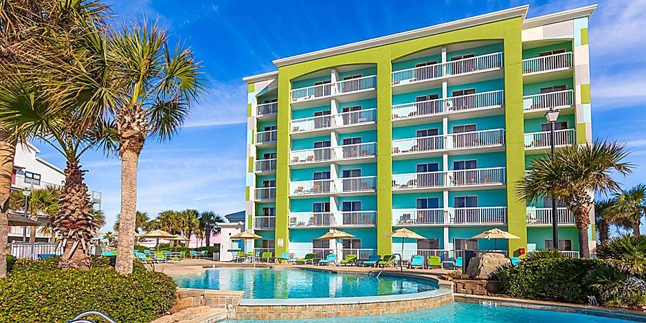 Holiday Inn Express Orange Beach On The Beach Hotel In Orange Beach