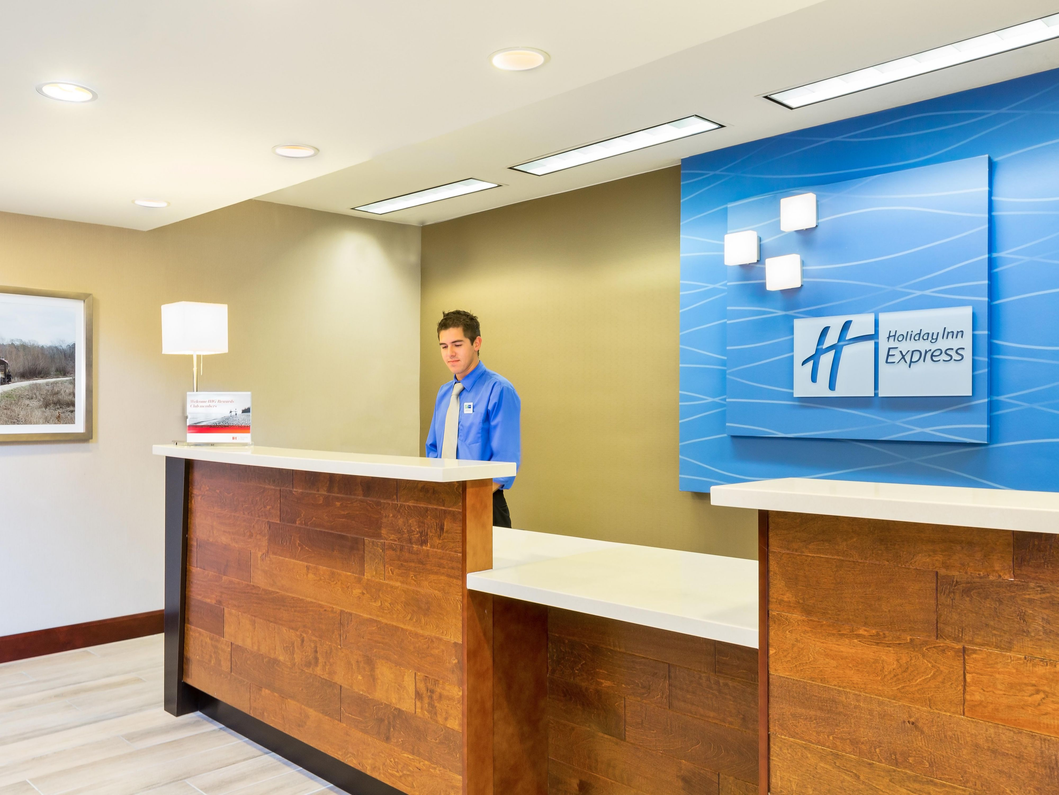 Our Front Desk staff welcomes you!