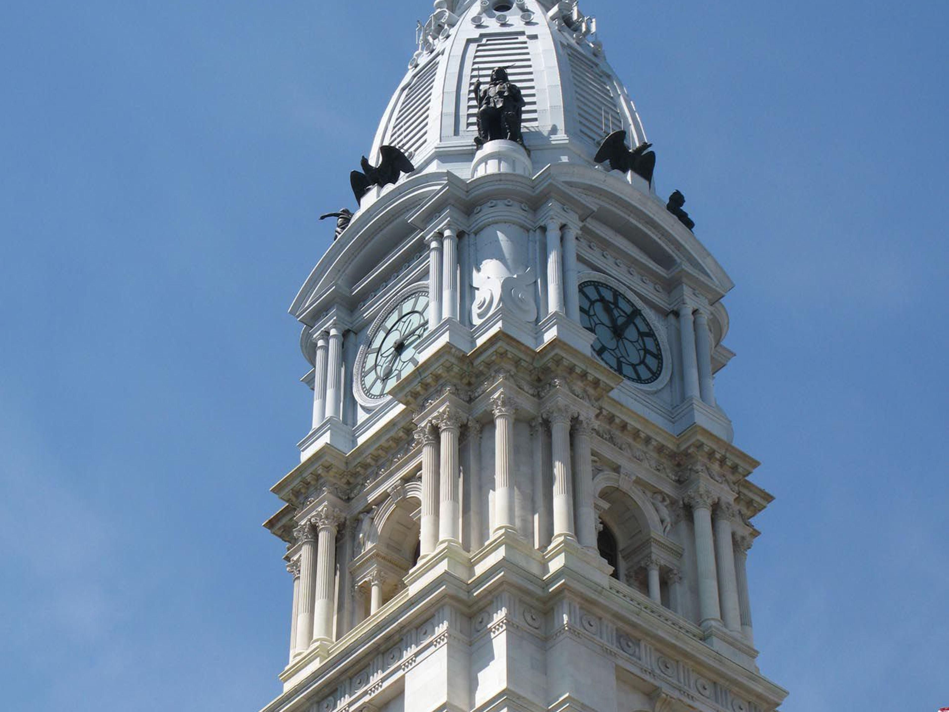 It's William Penn on top of City Hall
