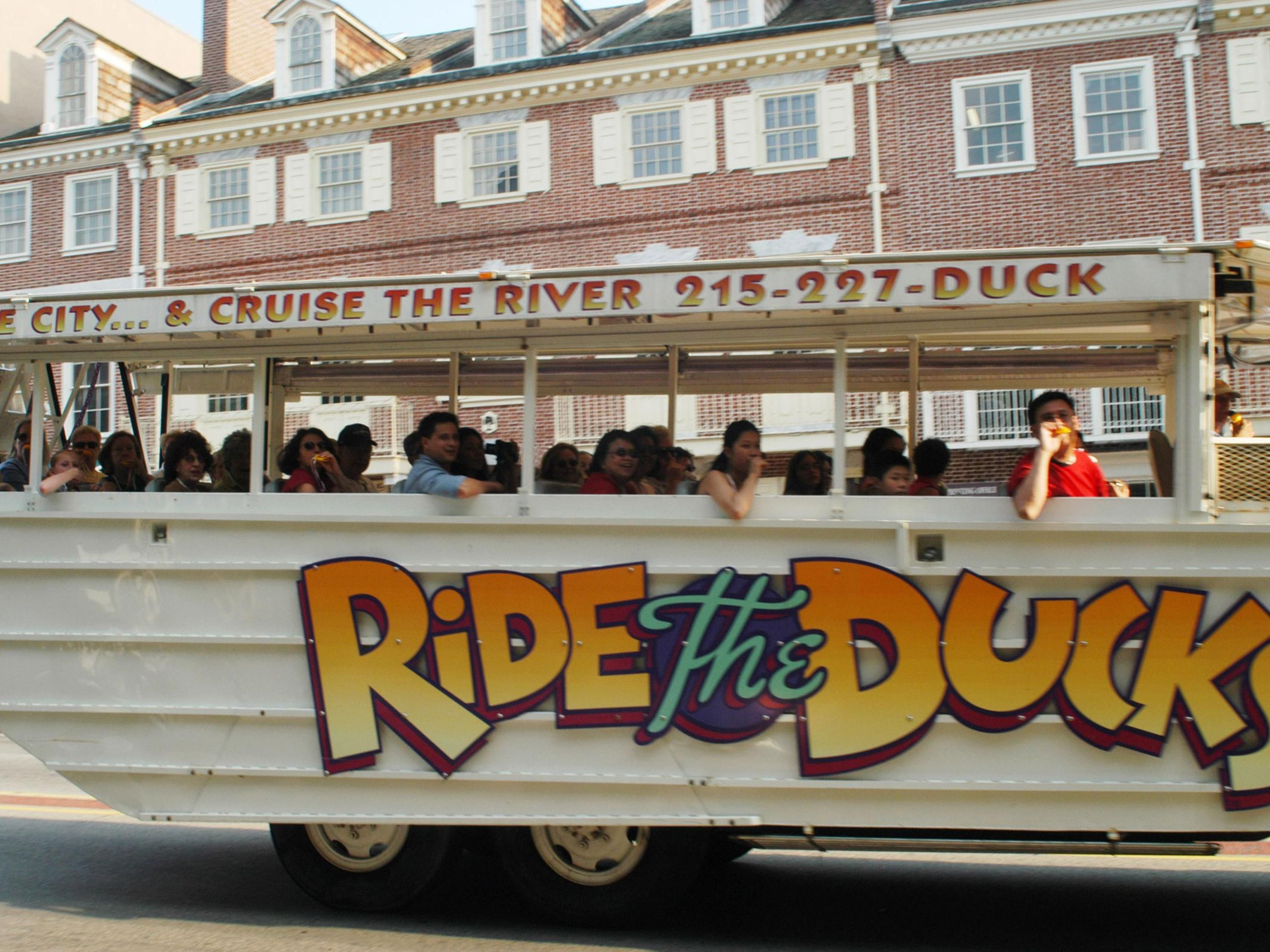 Ride the Ducks Tour, get your quaker ready!