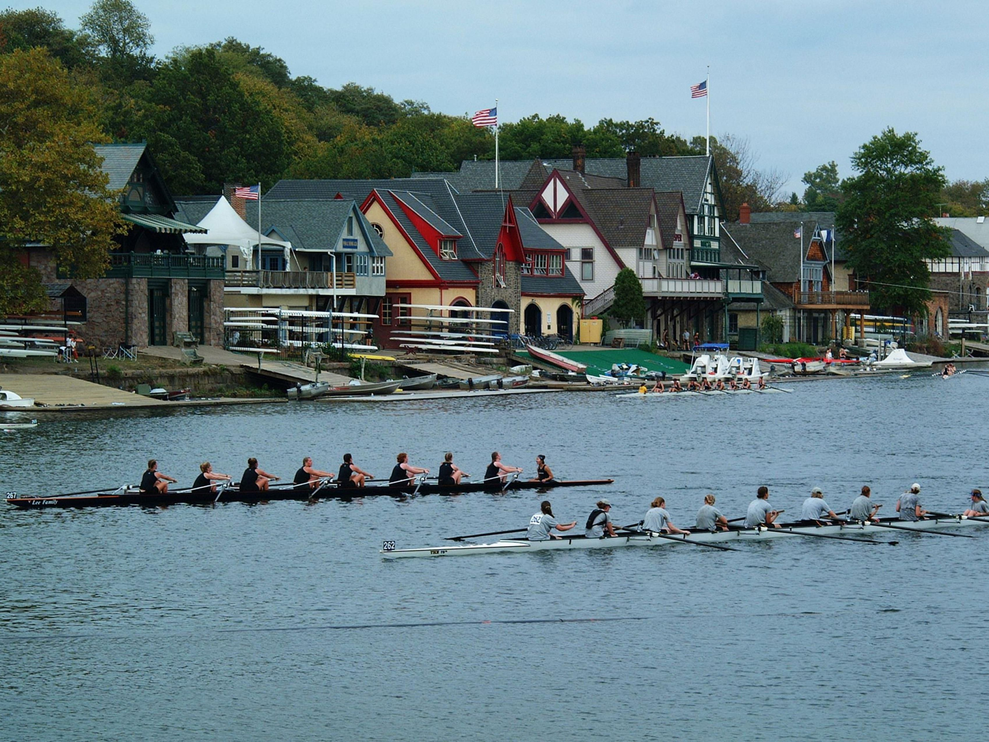 Beautiful Boathouse Row located off Kelly Dr. Only 10 minutes away