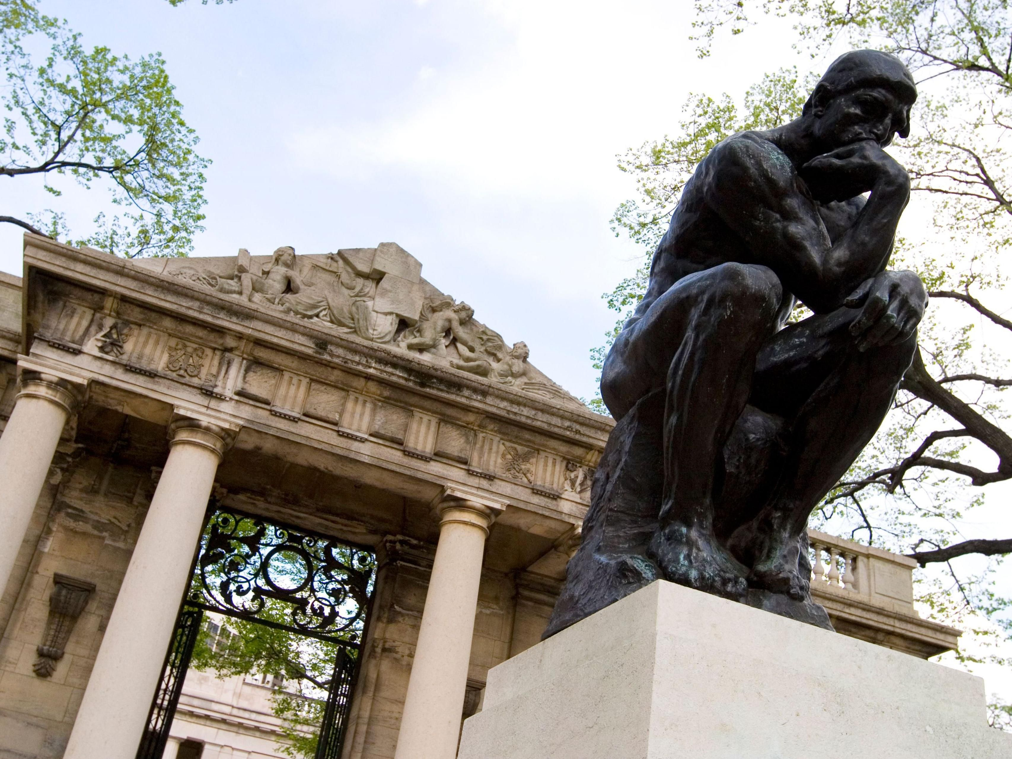 Rodin Museum is located on the Ben Franklin Parkway-10 min.