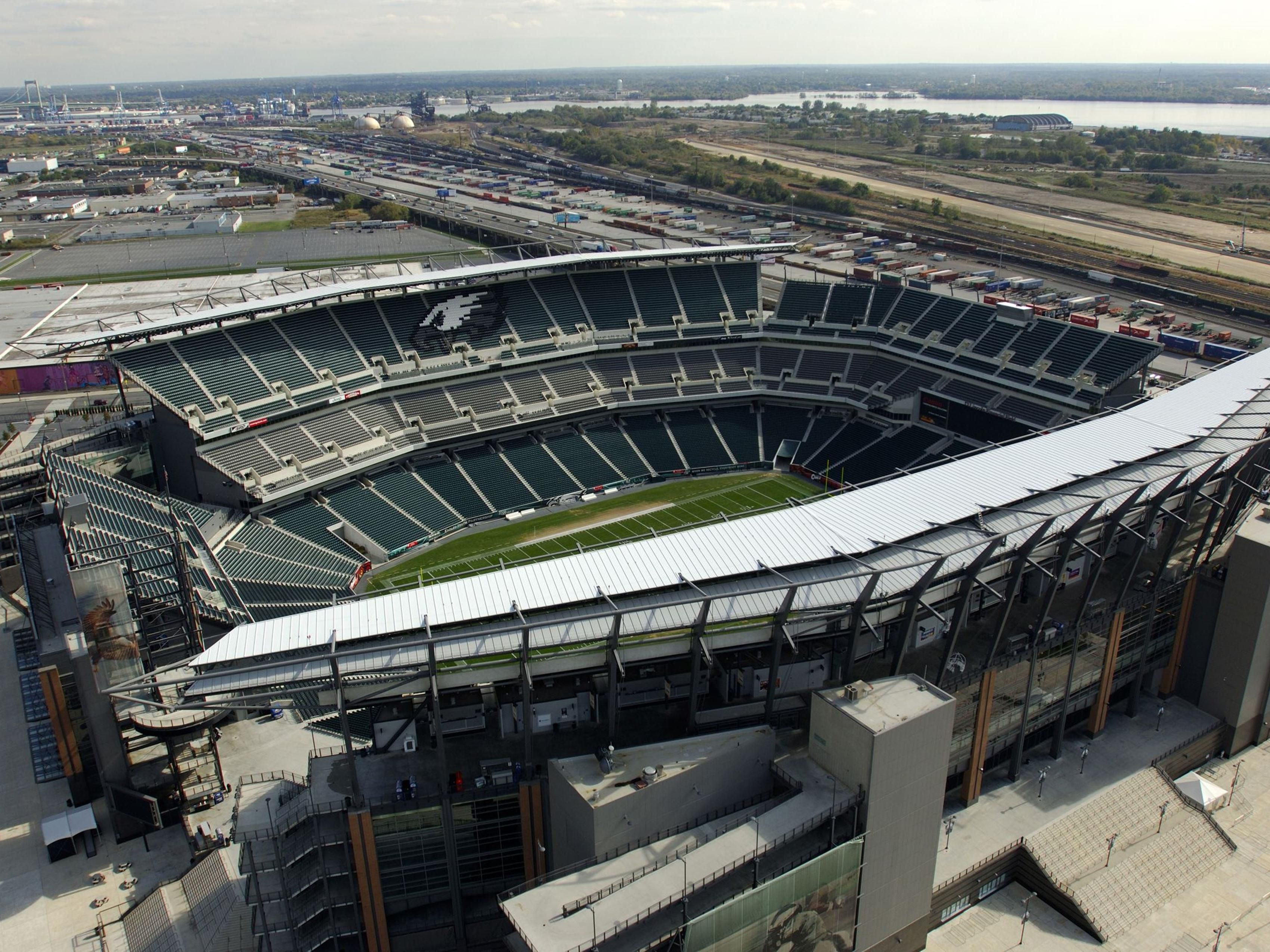 Lincoln Financial Field-recommend taking the subway to the games.