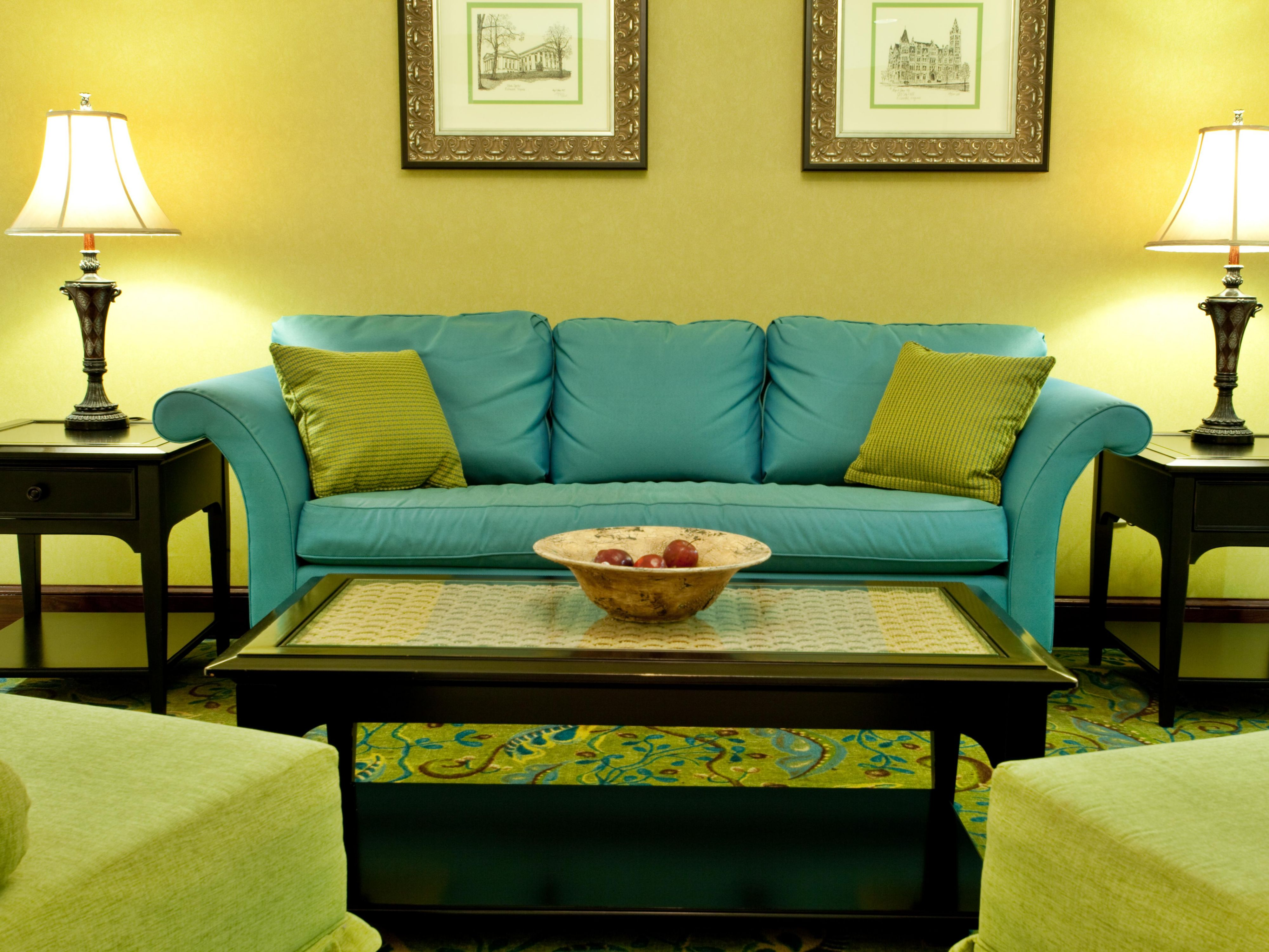 Relax in our spacious lobby , Free fast Wi-Fi access