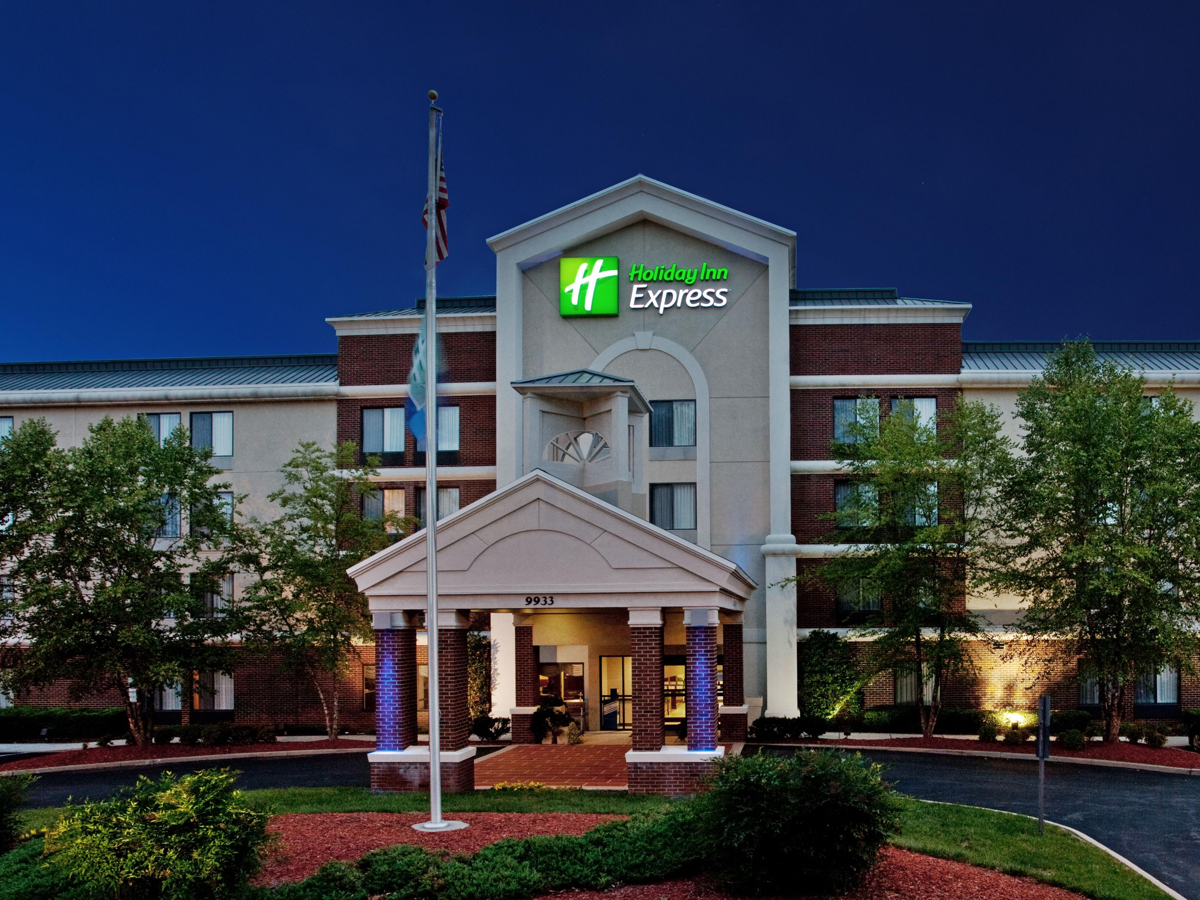 Welcome to the Holiday Inn Express in historic Richmond