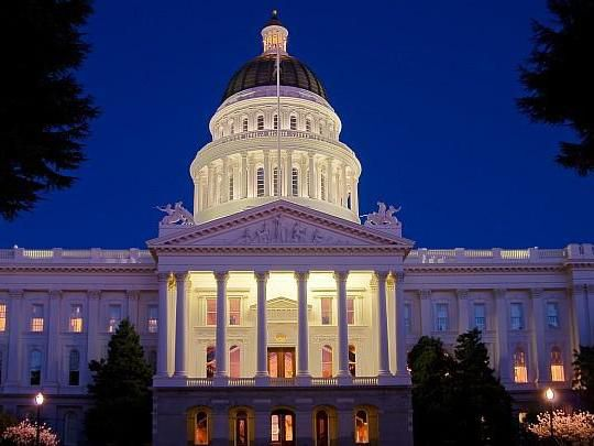 California State Capital here in Sacramento