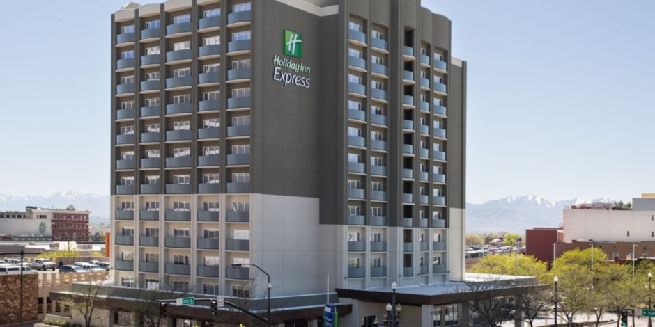 Hotel Exterior Holiday Inn Express Salt Lake City Downtown