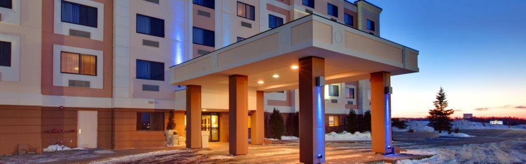 Hotel Lobby Exterior