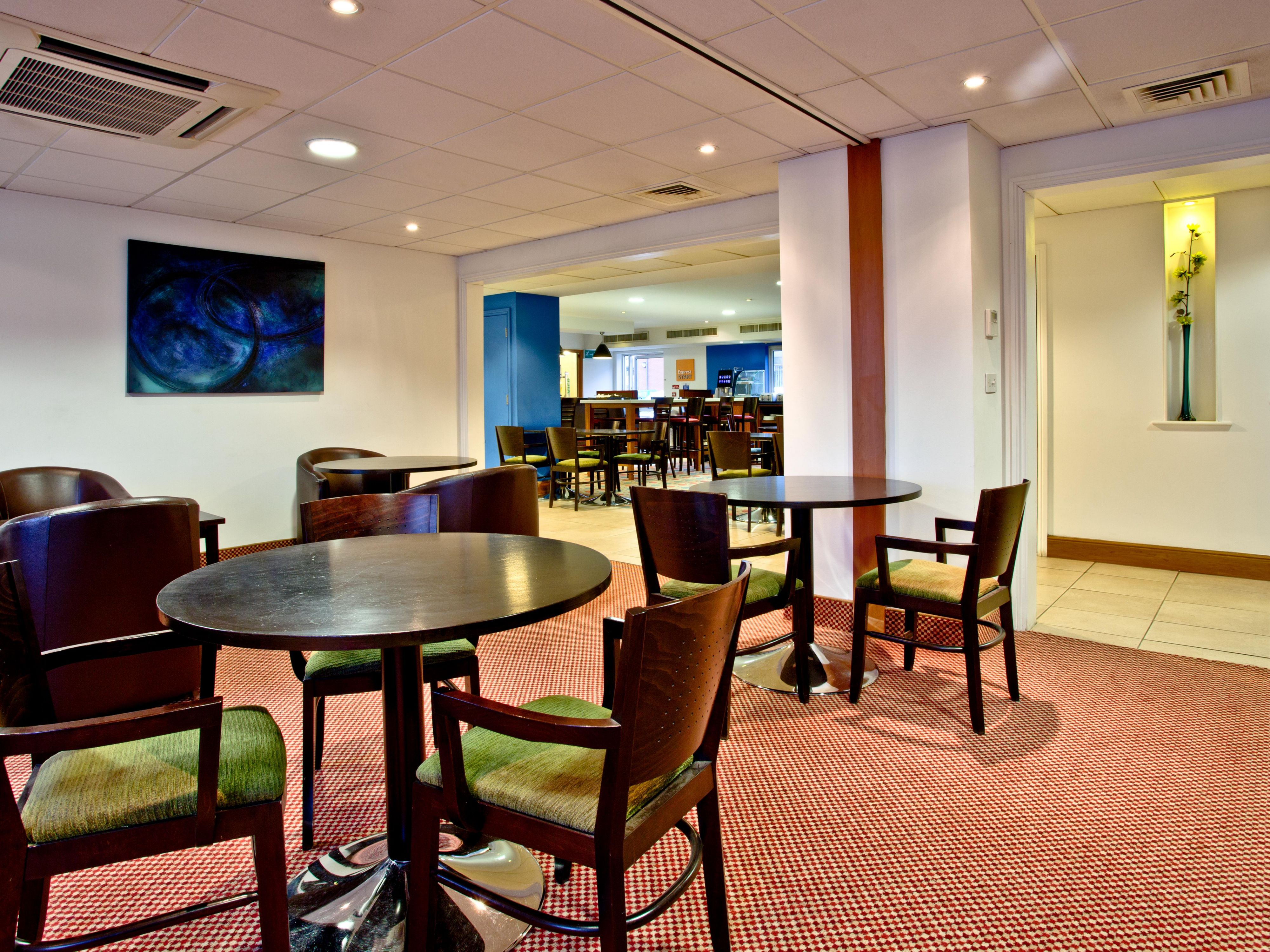 Sip your morning coffee in our comfortable Seating Area