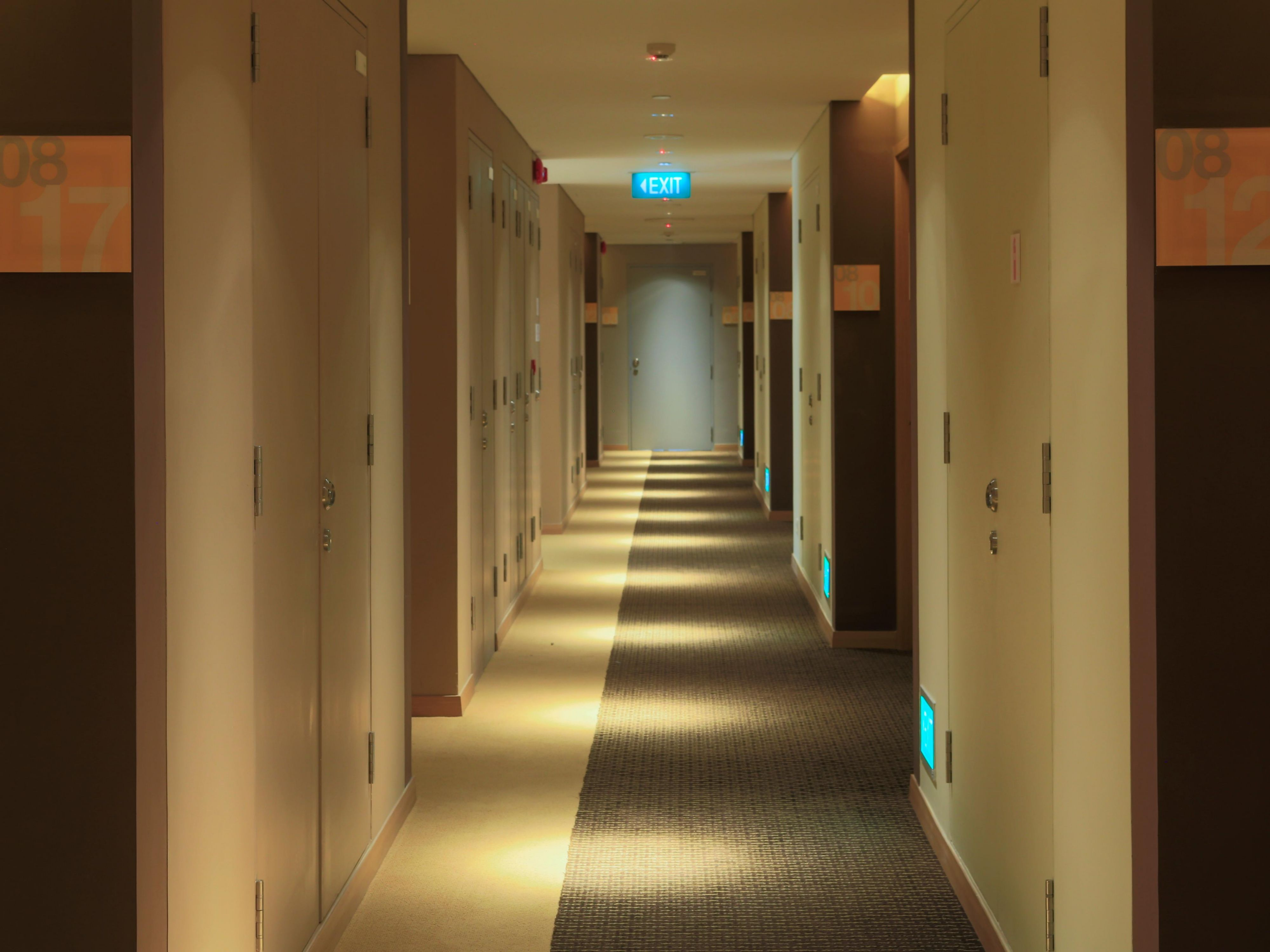 Holiday Inn Express Singapore Orchard Road Hallway