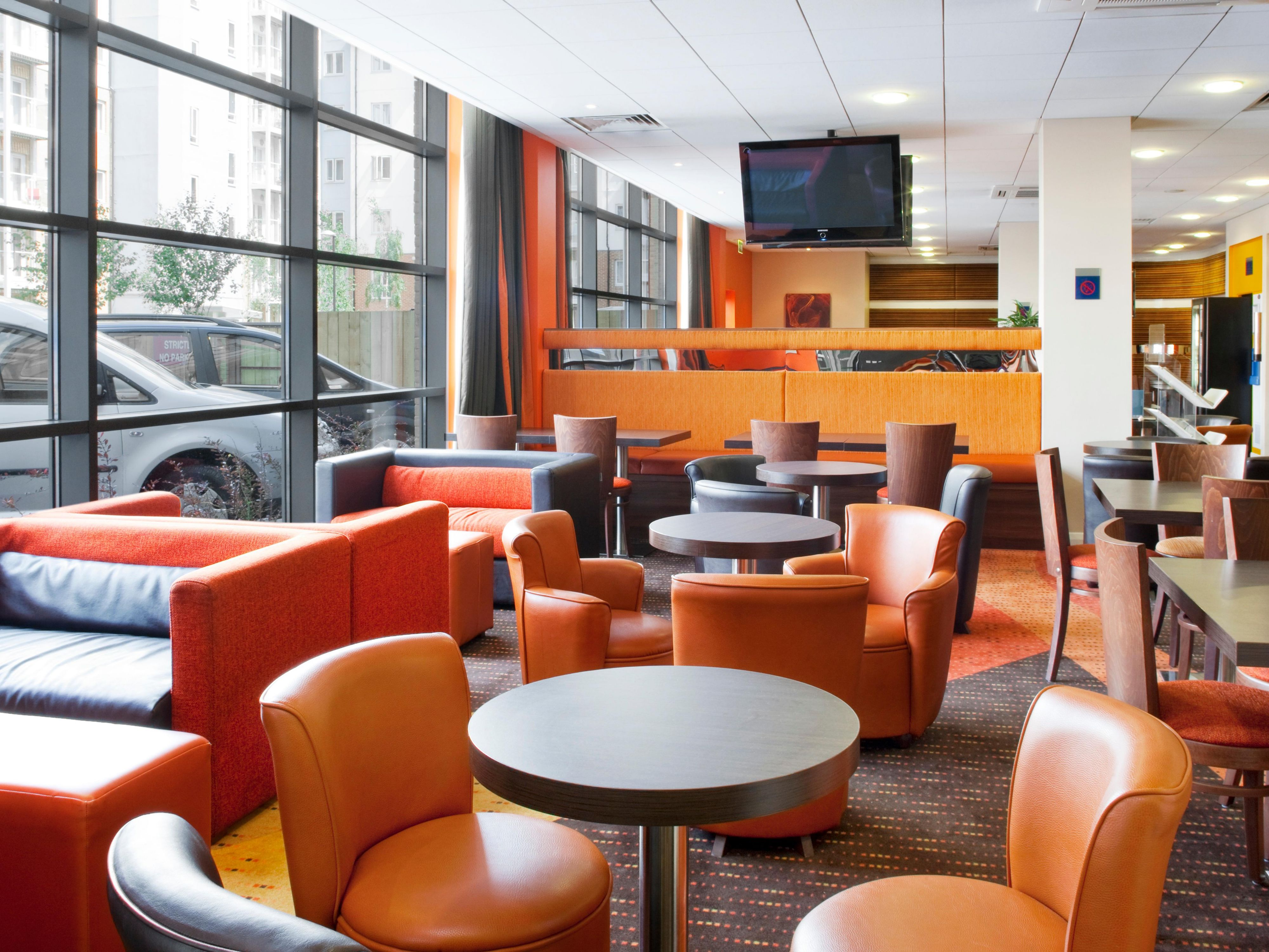 Free Wi-Fi at the Holiday Inn Express Slough
