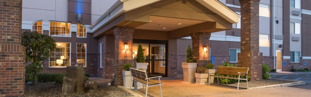 Welcome To The Holiday Inn Express Spokane Valley