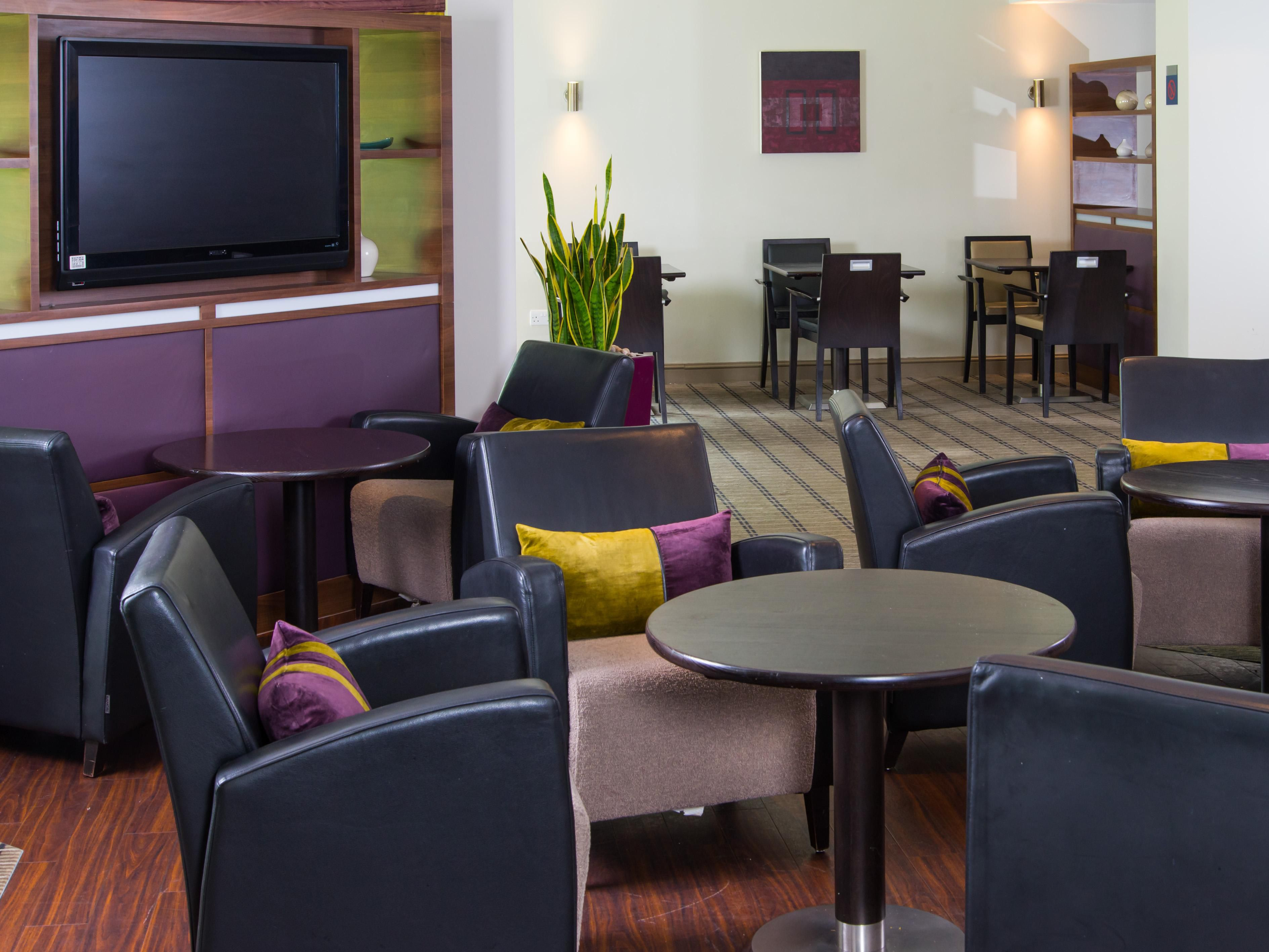 Gather round with the family in our comfortable Great Room