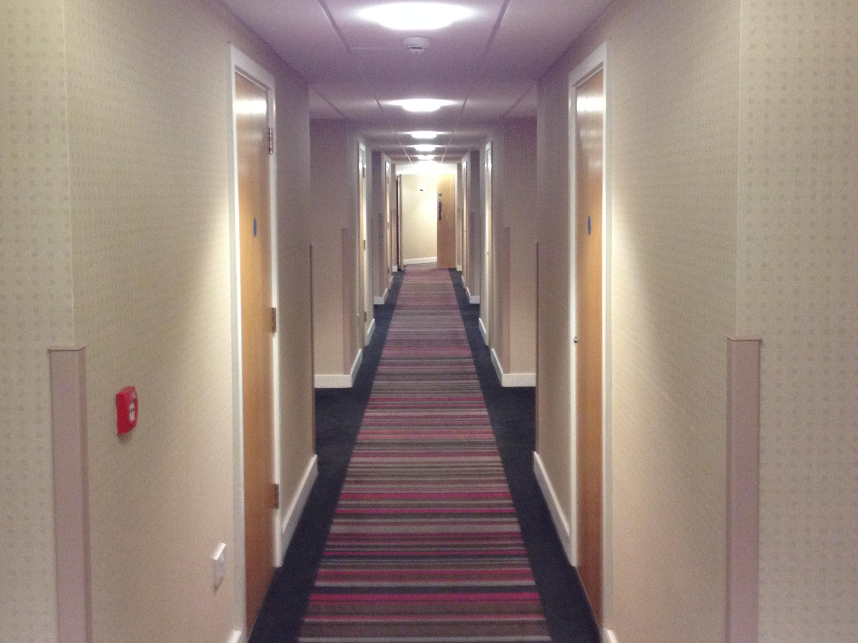 View of an internal corridor