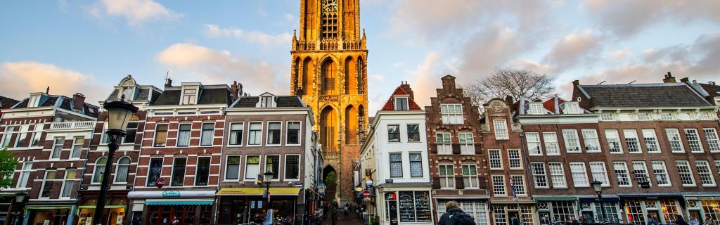 Area Attractions; Dom Tower; Canals of Utrecht ...