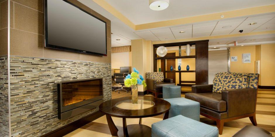 Hotel Lobby Bathroom Amenities