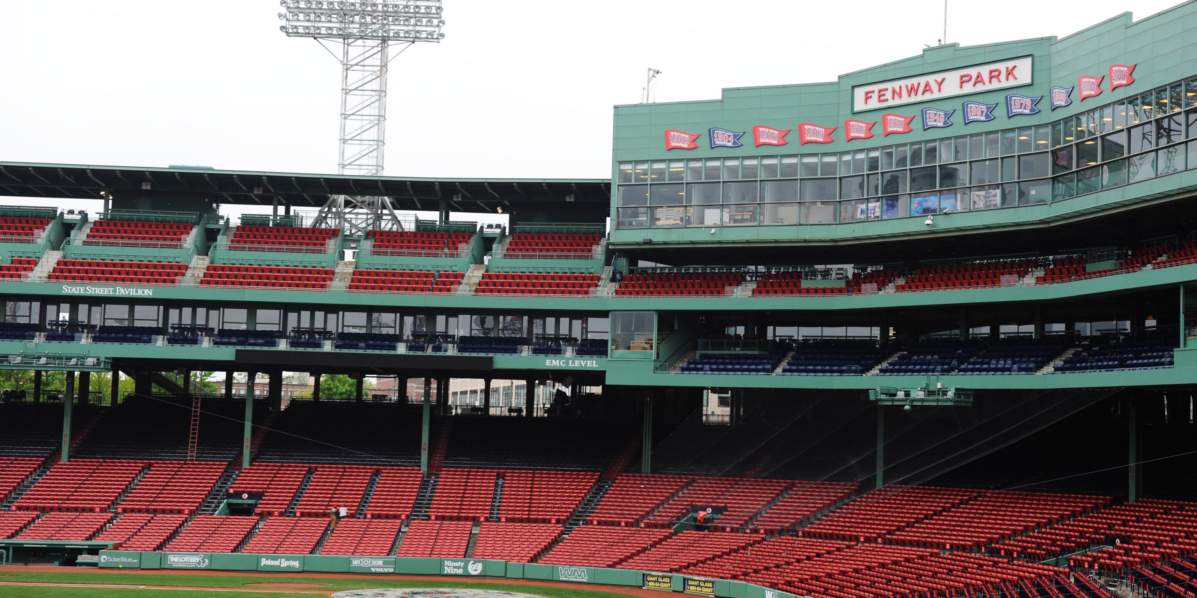 Cambridge, MA; Fenway Park, Home Of The Boston Redsox ...