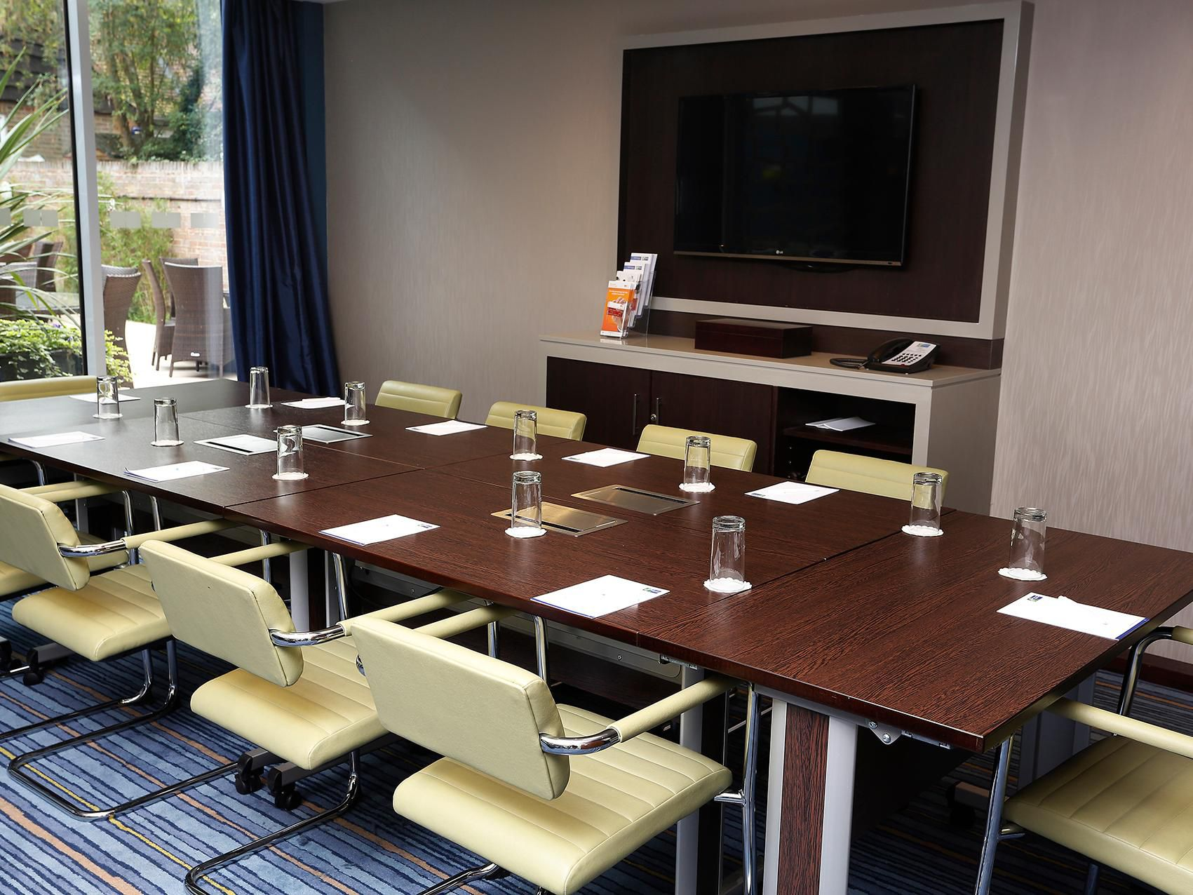 Our Meeting Room; perfect for the successfull meeting