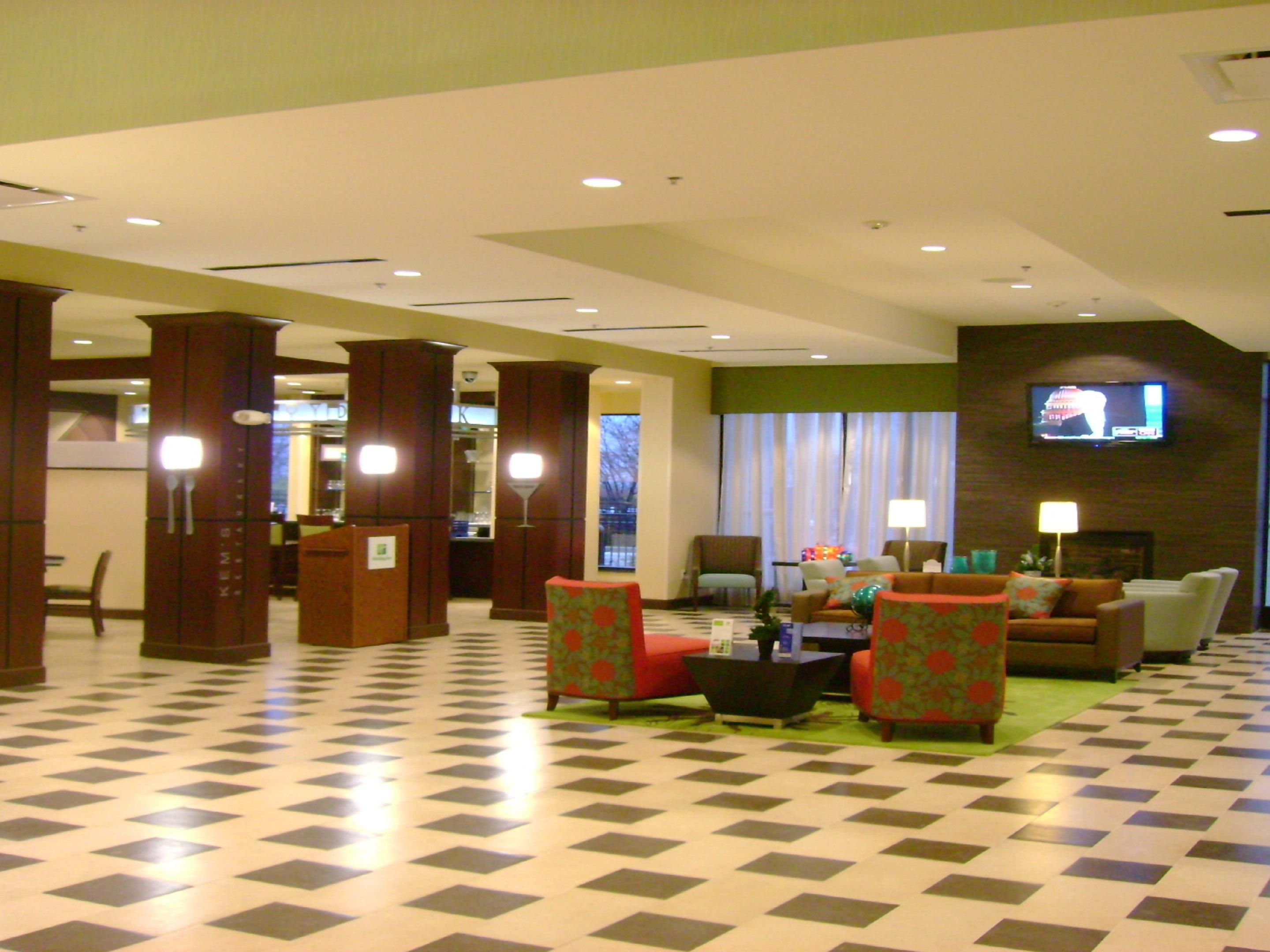 Relax in the Main Lobby- Enjoy friends, wifi, and television.