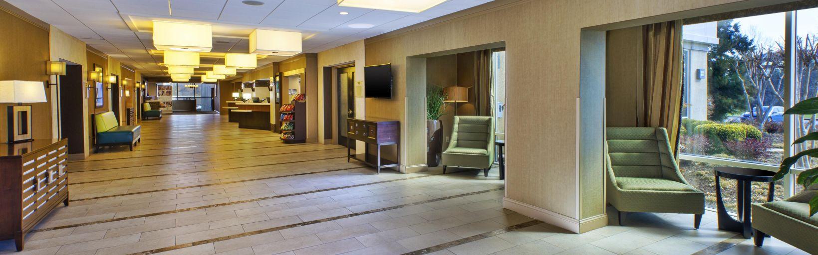 Hotel Exterior Lobby