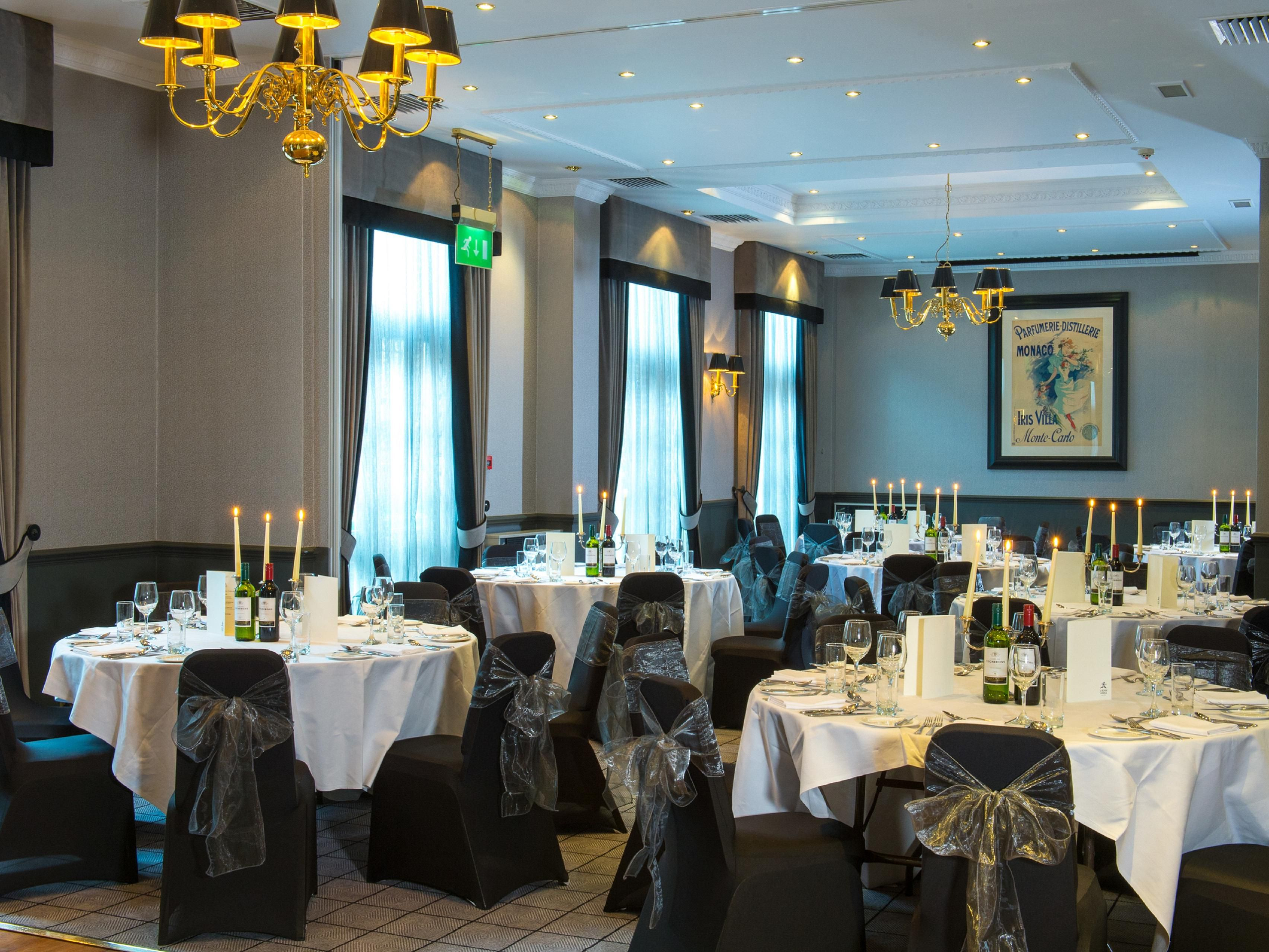 Banqueting for up to 100 at Holiday Inn Theatreland
