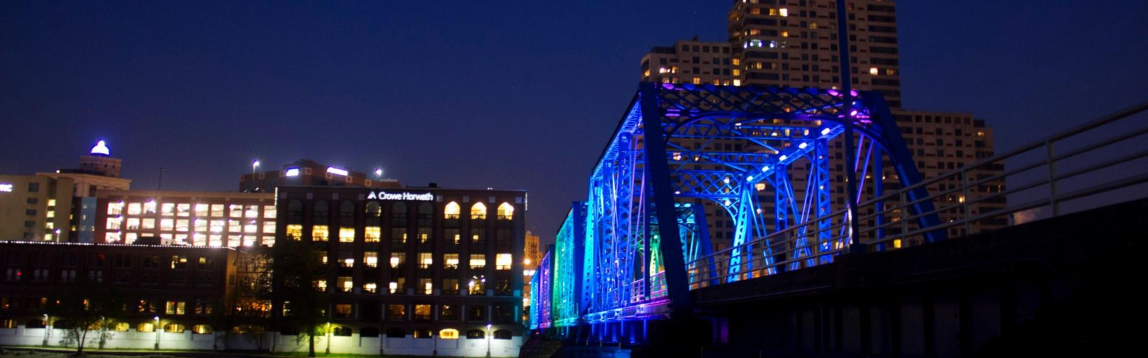 Our Historic Blue Bridge Is A Short Walk From The Hotel