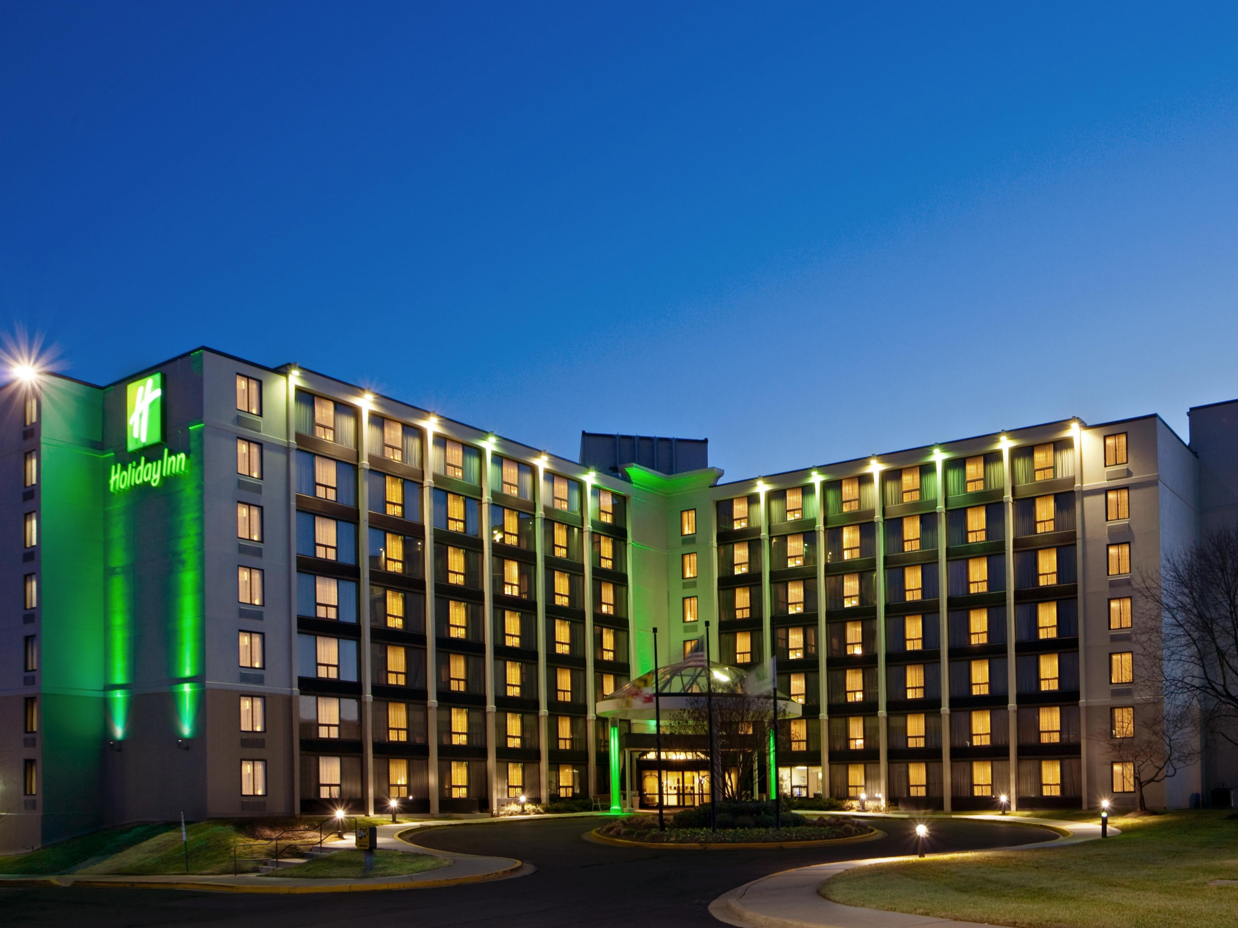 Welcome to the Holiday Inn Greenbelt. Come on in!