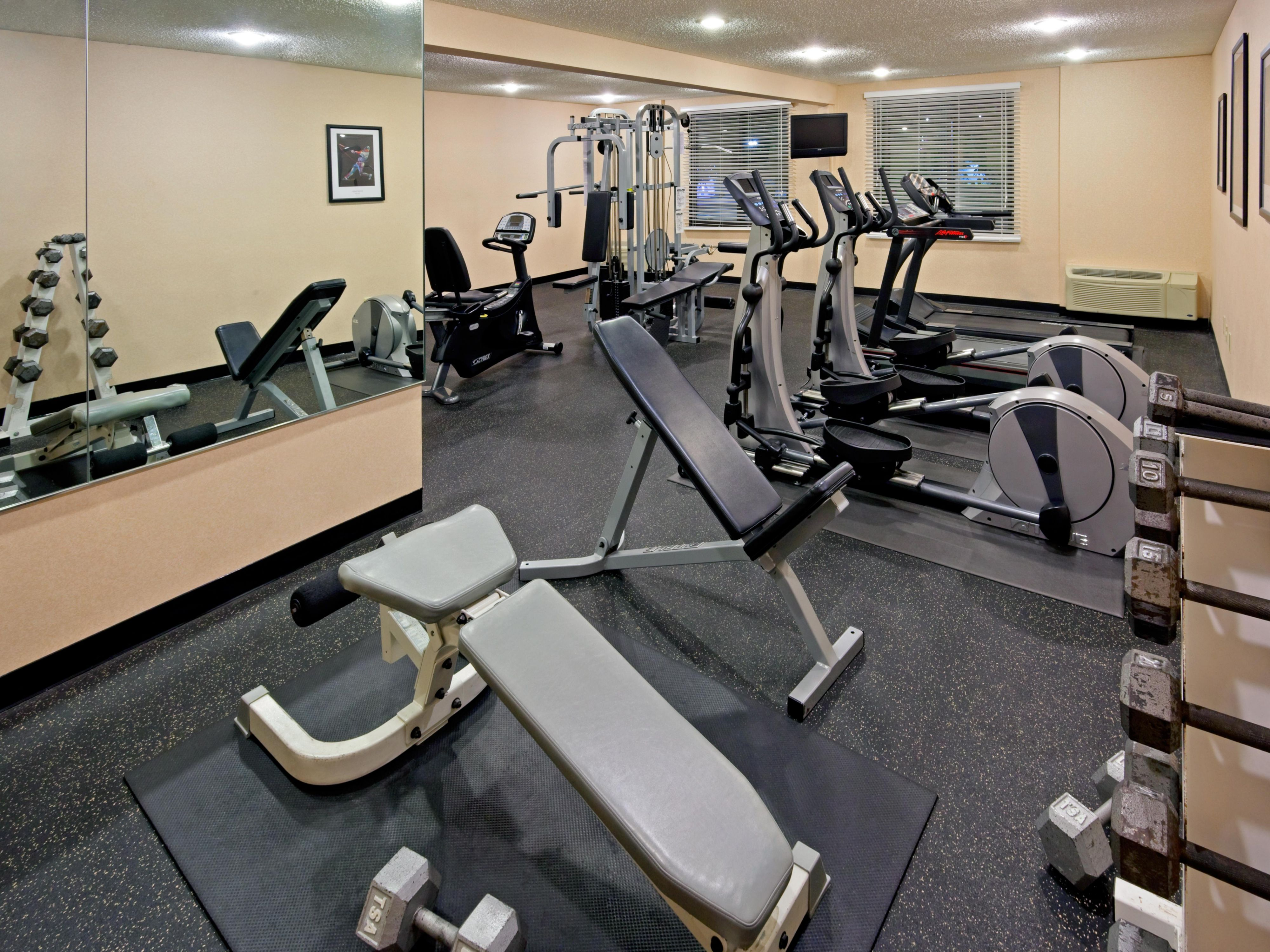 Fitness Center-Holiday Inn-Meadowlands-Hasbrouck Hts