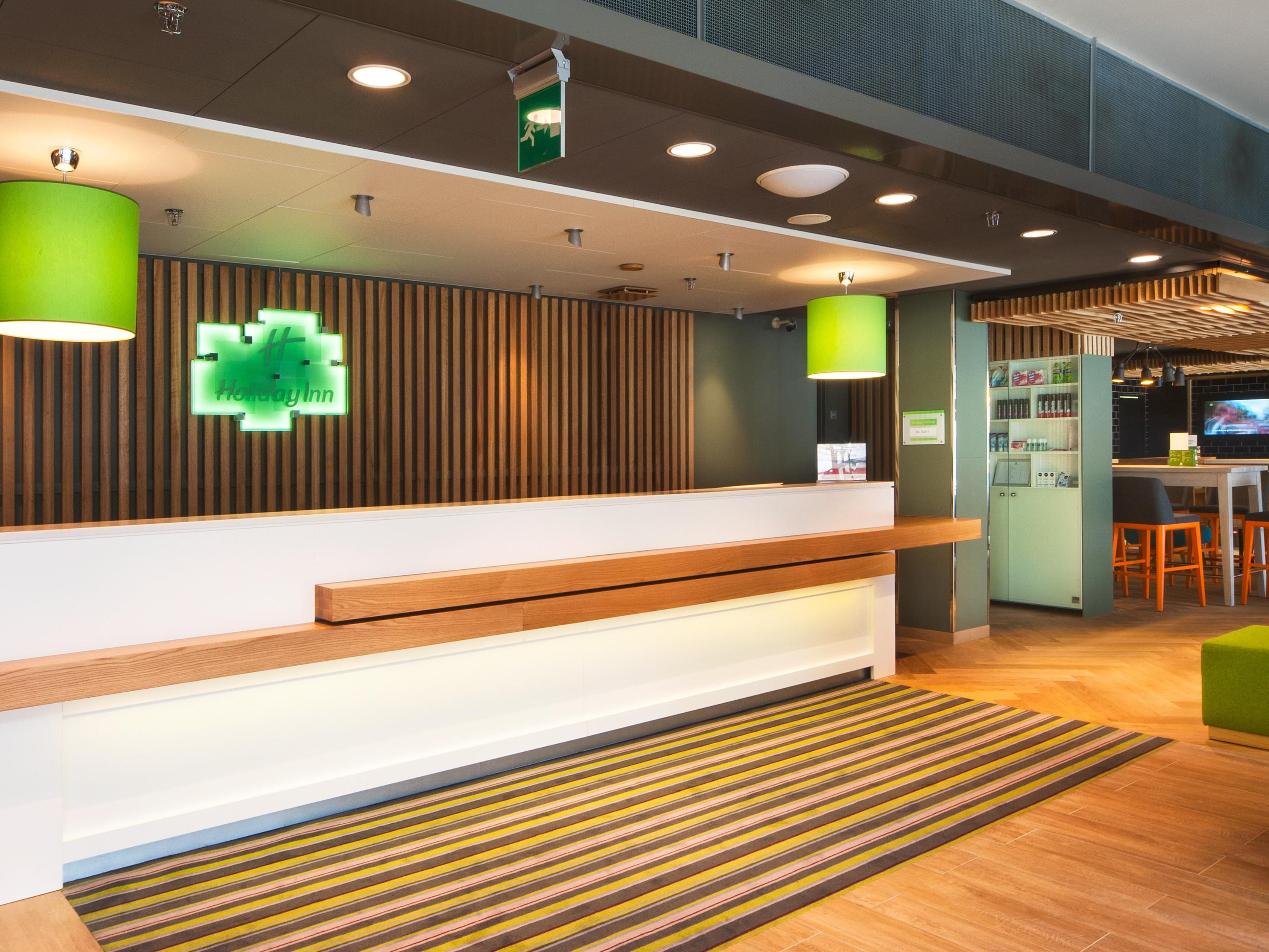 Welcome to Holiday Inn Helsinki City Centre with new Open Lobby