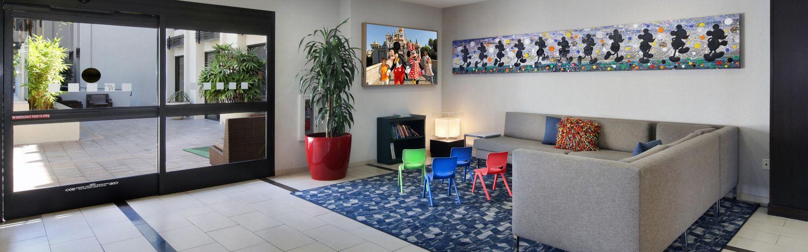 Hotel Lobby Kids Corner