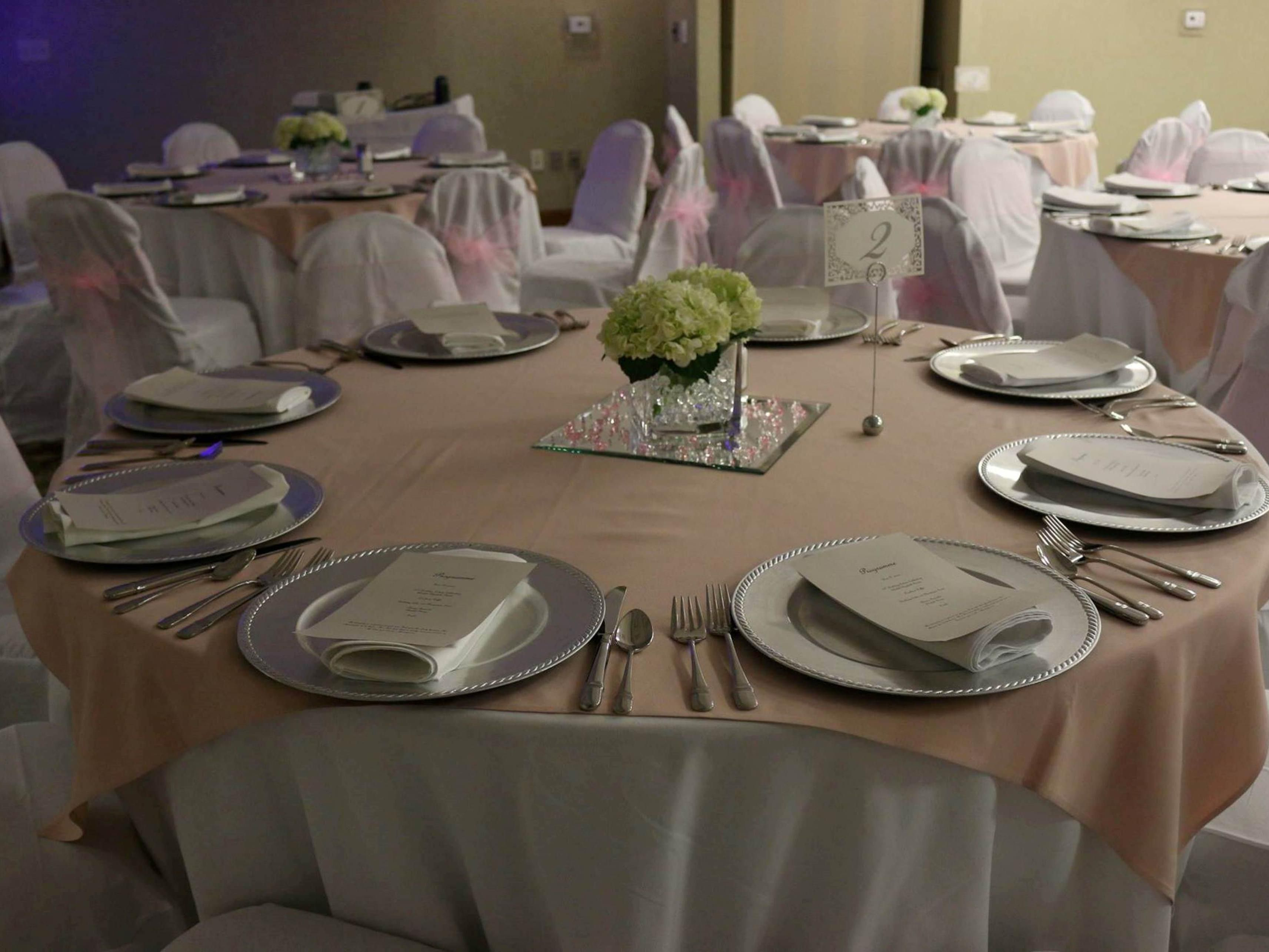 Let us host your next special event.