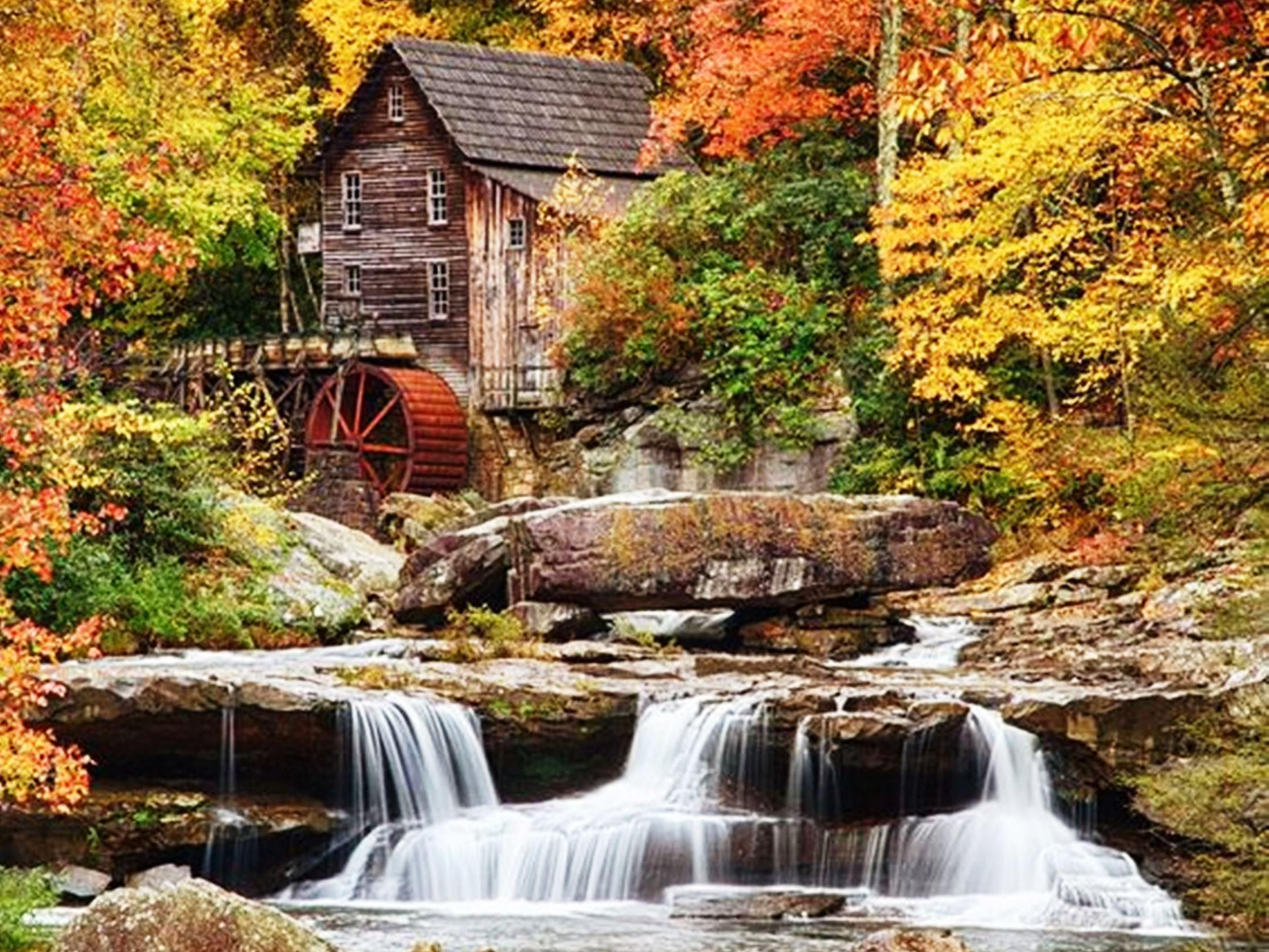 The Gristmill at Babcock State Park
