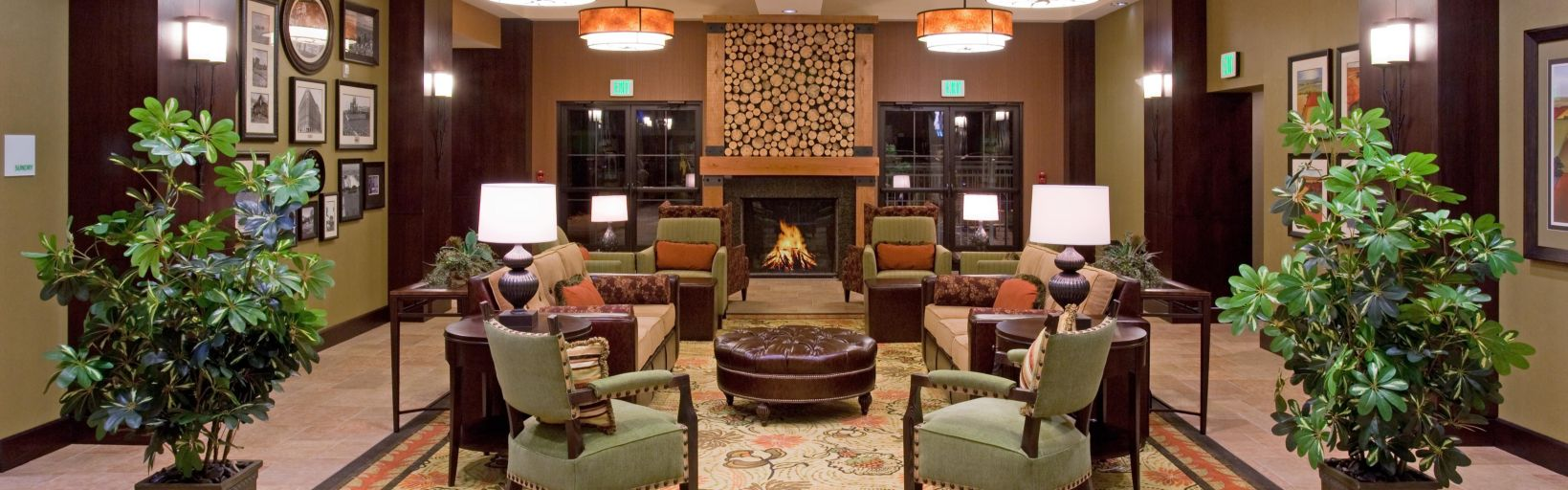 Hotel Front Desk Lobby Lounge