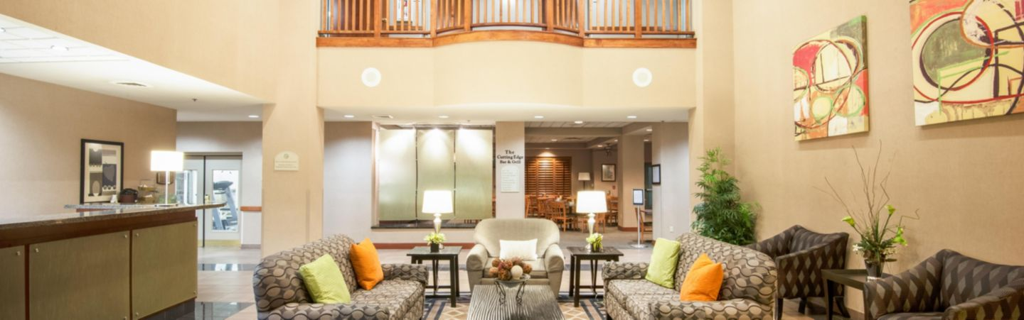 Relax In Our Inviting Hotel Lobby