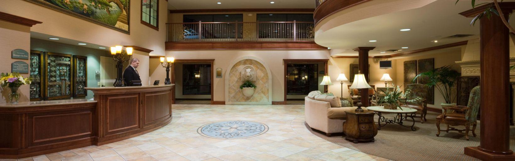 Suites Lakeville Reception
