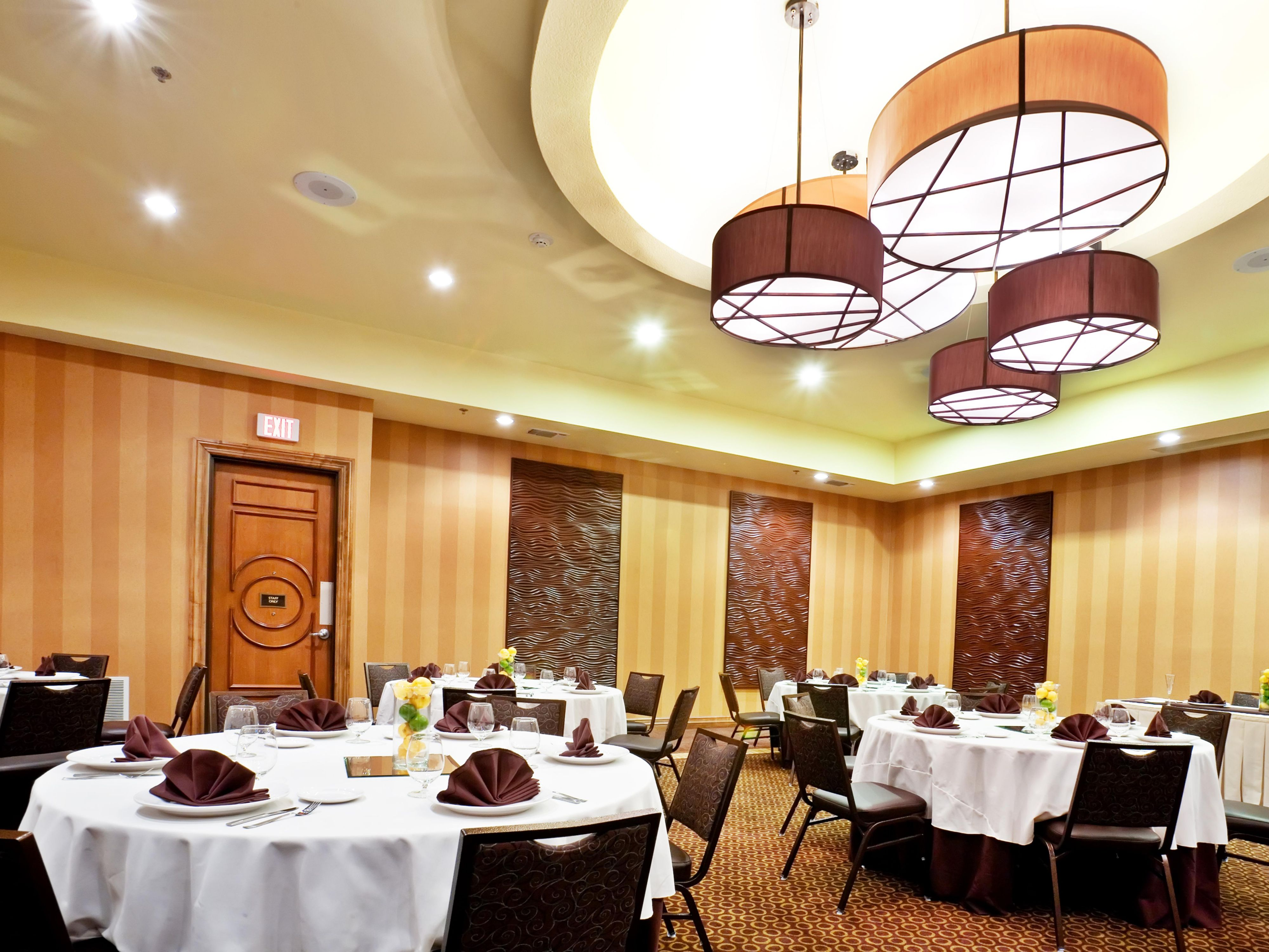 A beautiful, contemporary space for all social events.
