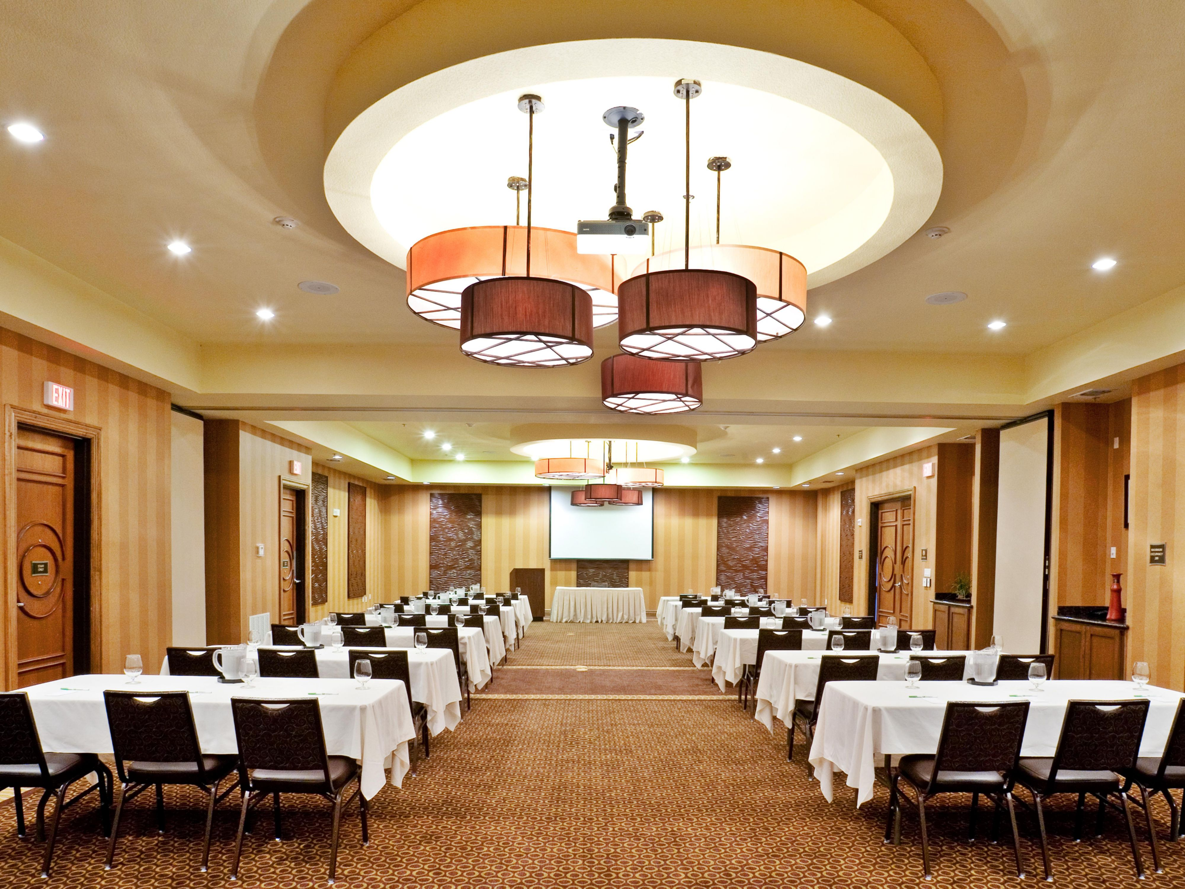 Ideal space for business meetings, workshops and more.