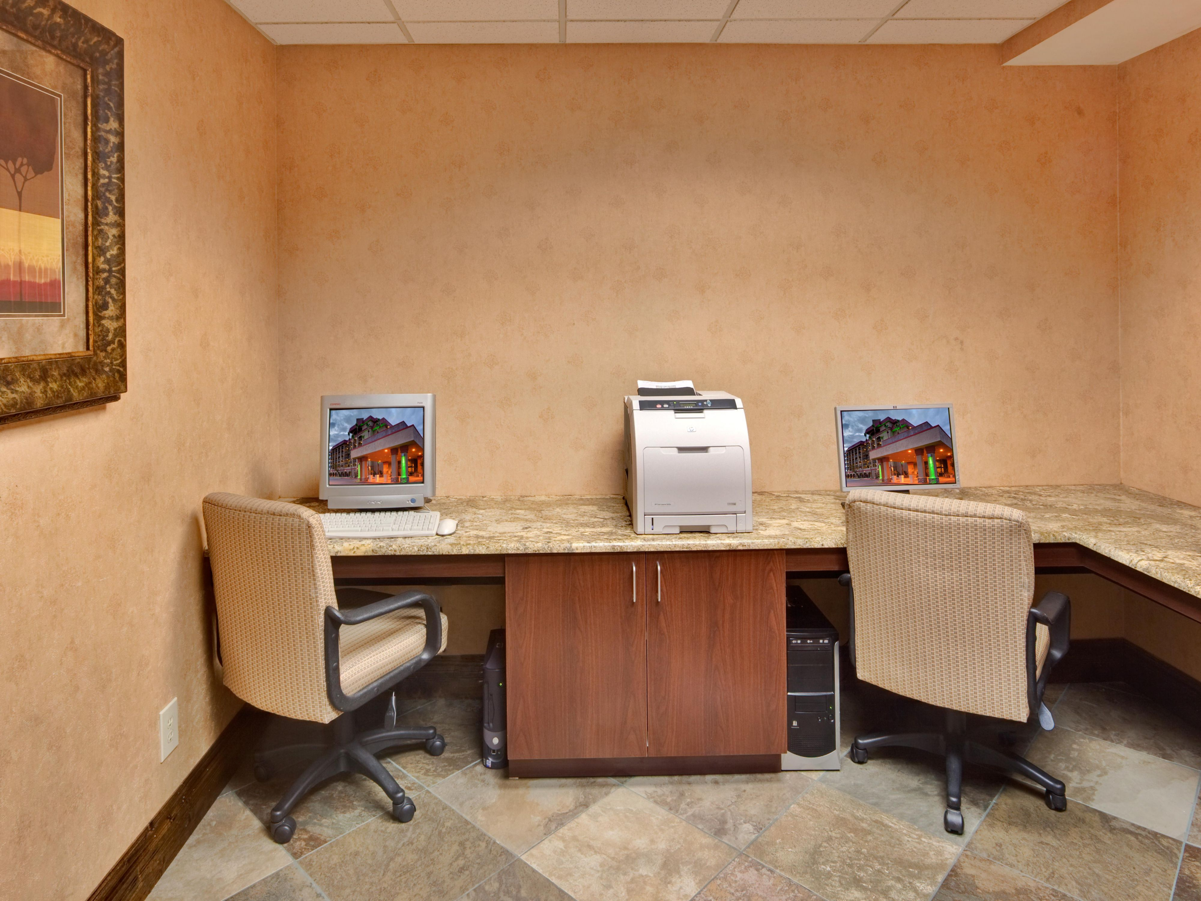 Business Center at Holiday Inn & Suites in Mesa, AZ