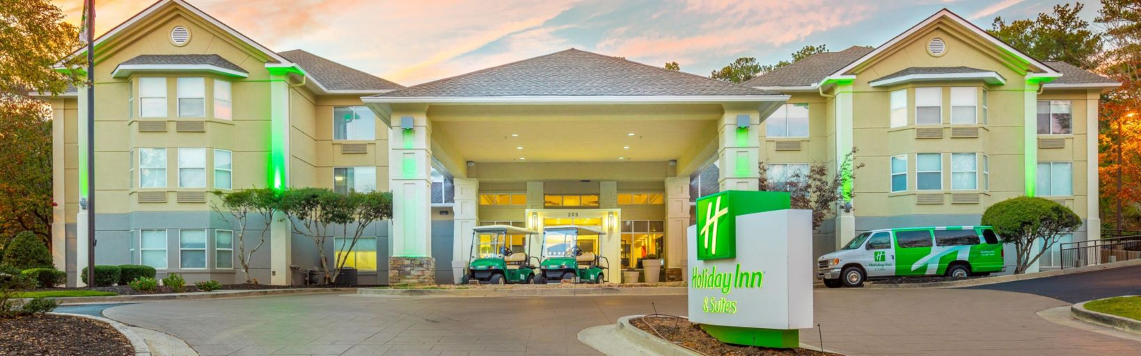Welcome To The Holiday Inn Suites Peachtree City