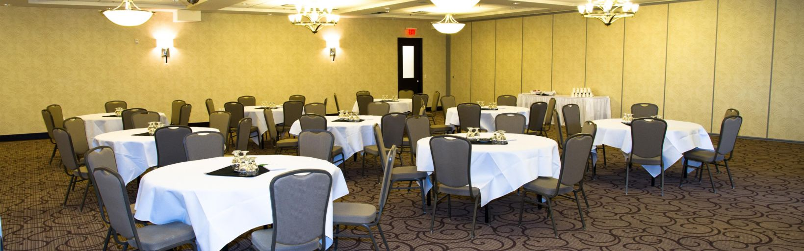 Banquet Room At Holiday Inn Suites Red Deer South