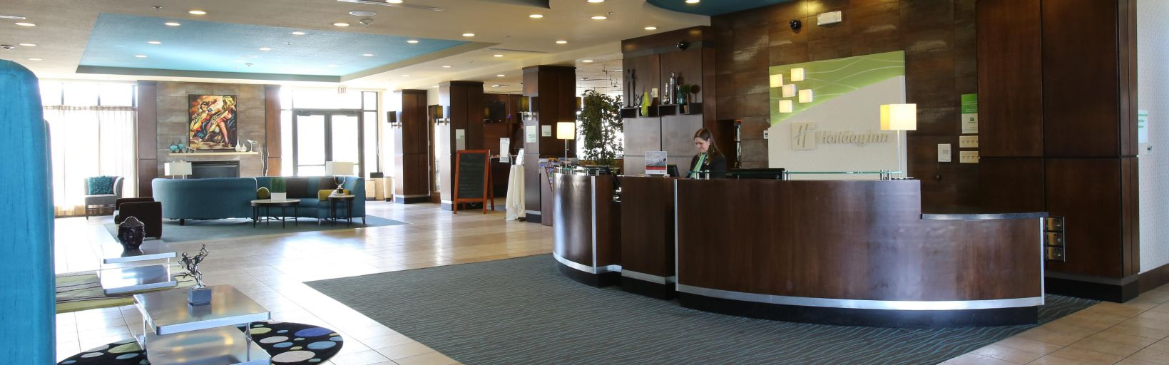 Welcome To The Holiday Inn Suites Salt Lake City Airport