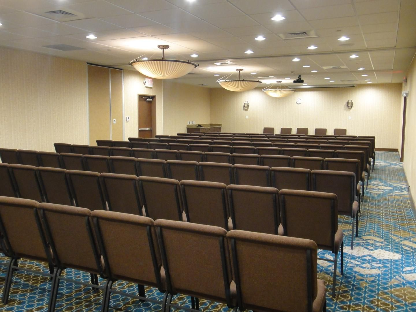 Meeting Room Set Theater Style