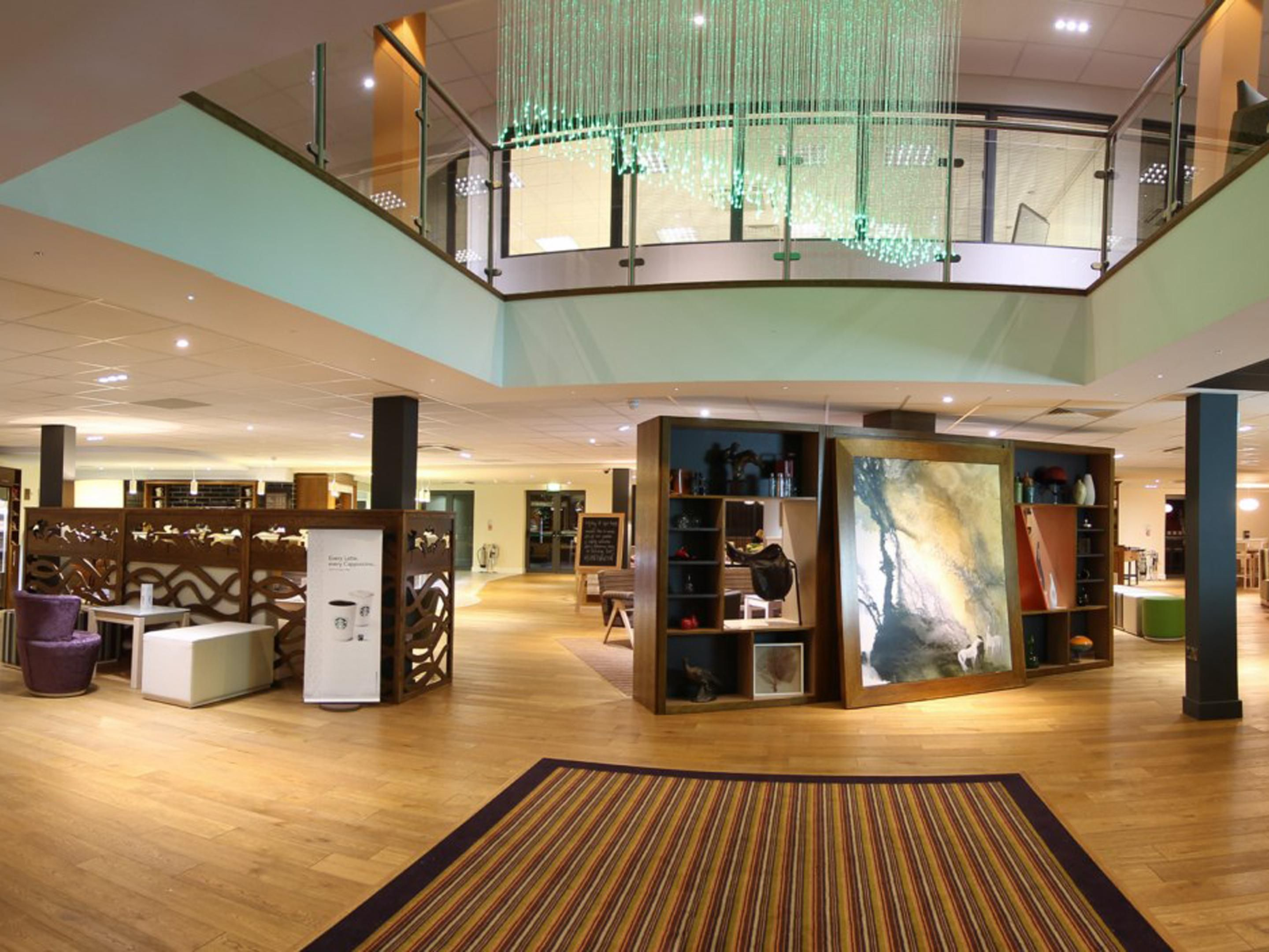 Entrance Lobby to the hotel, Free WIFI throughout