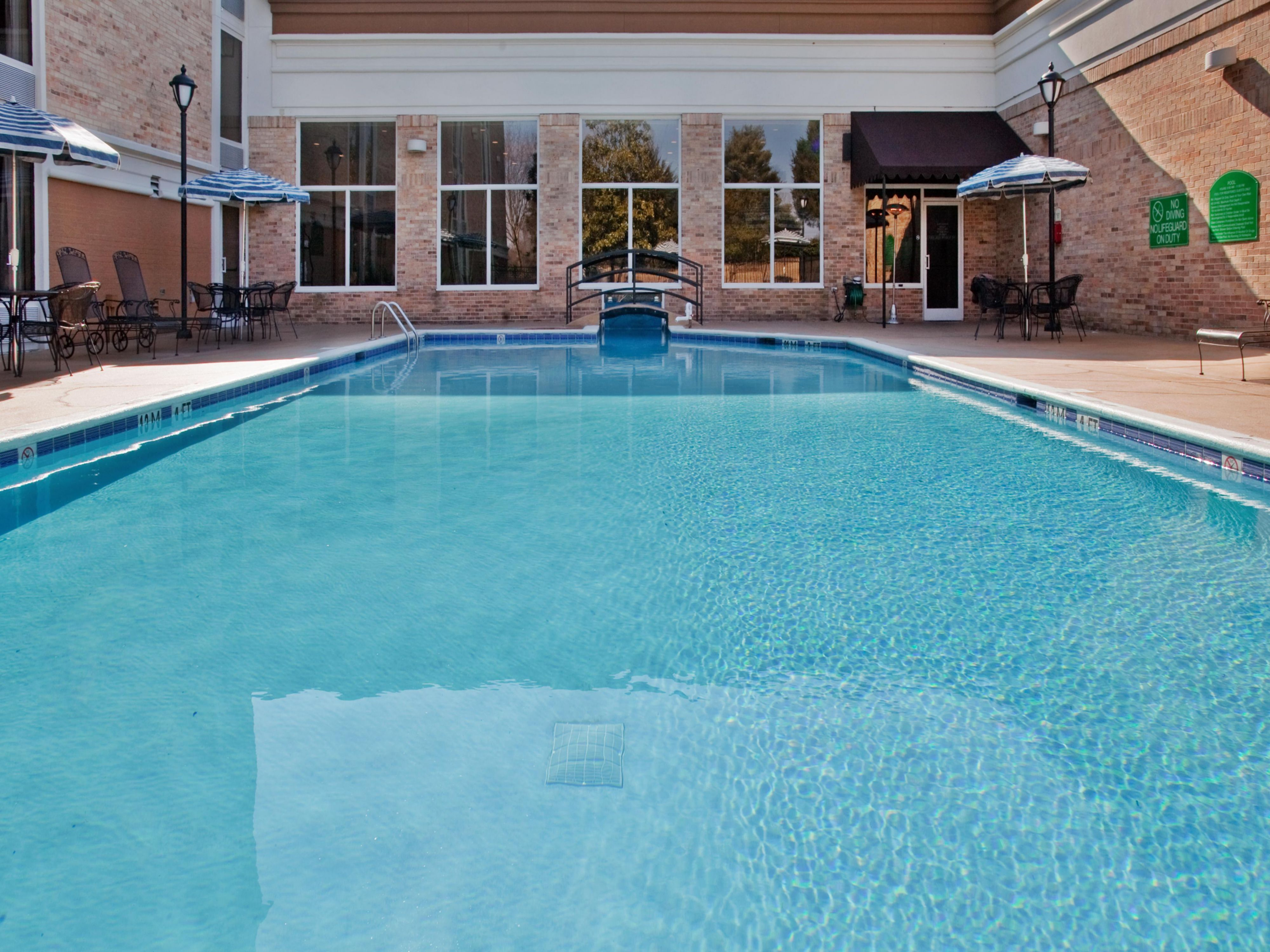 Holiday Inn Research Park Outdoor Swimming Pool