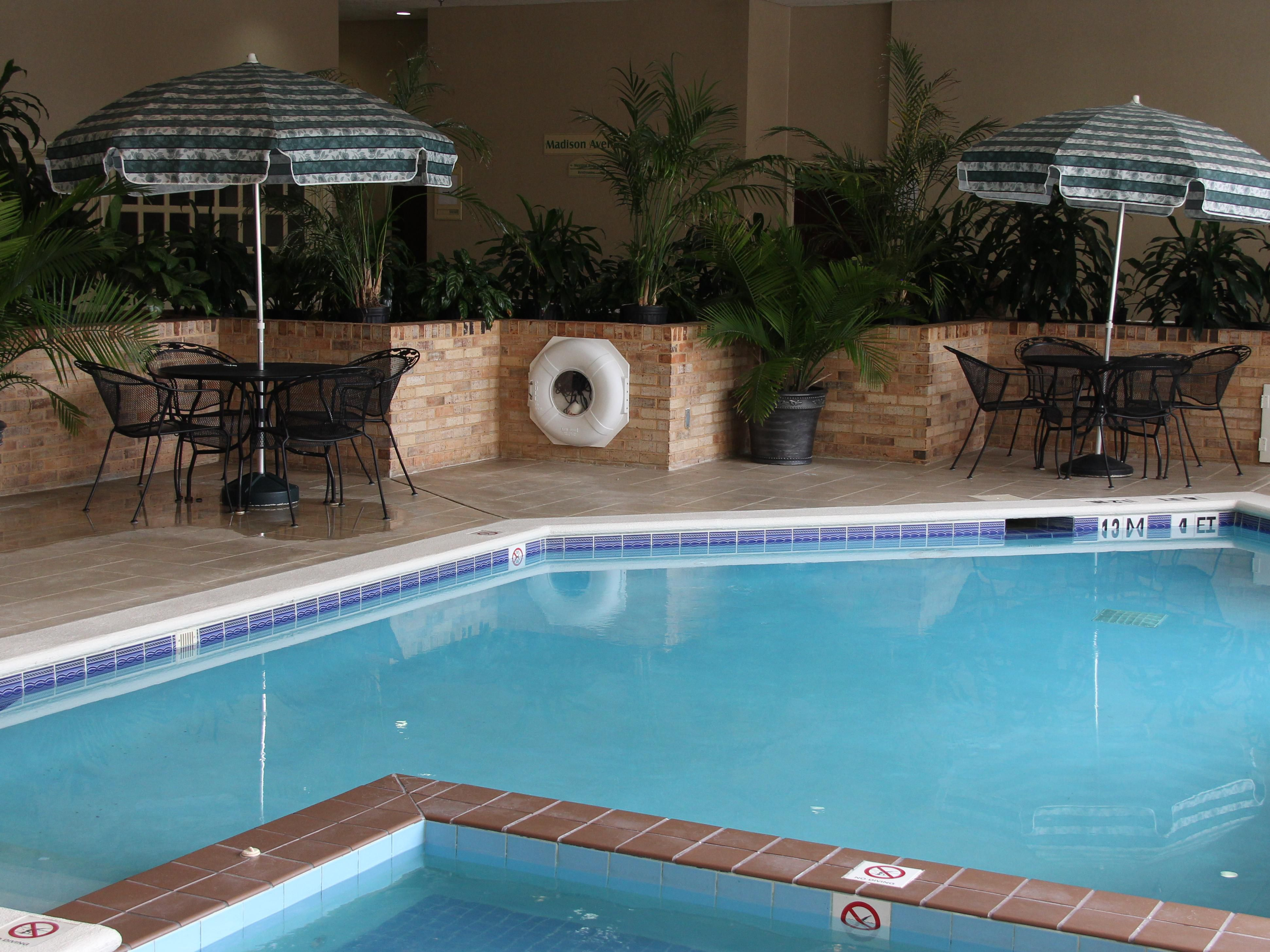 Holiday Inn Research Park Indoor Swimming Pool