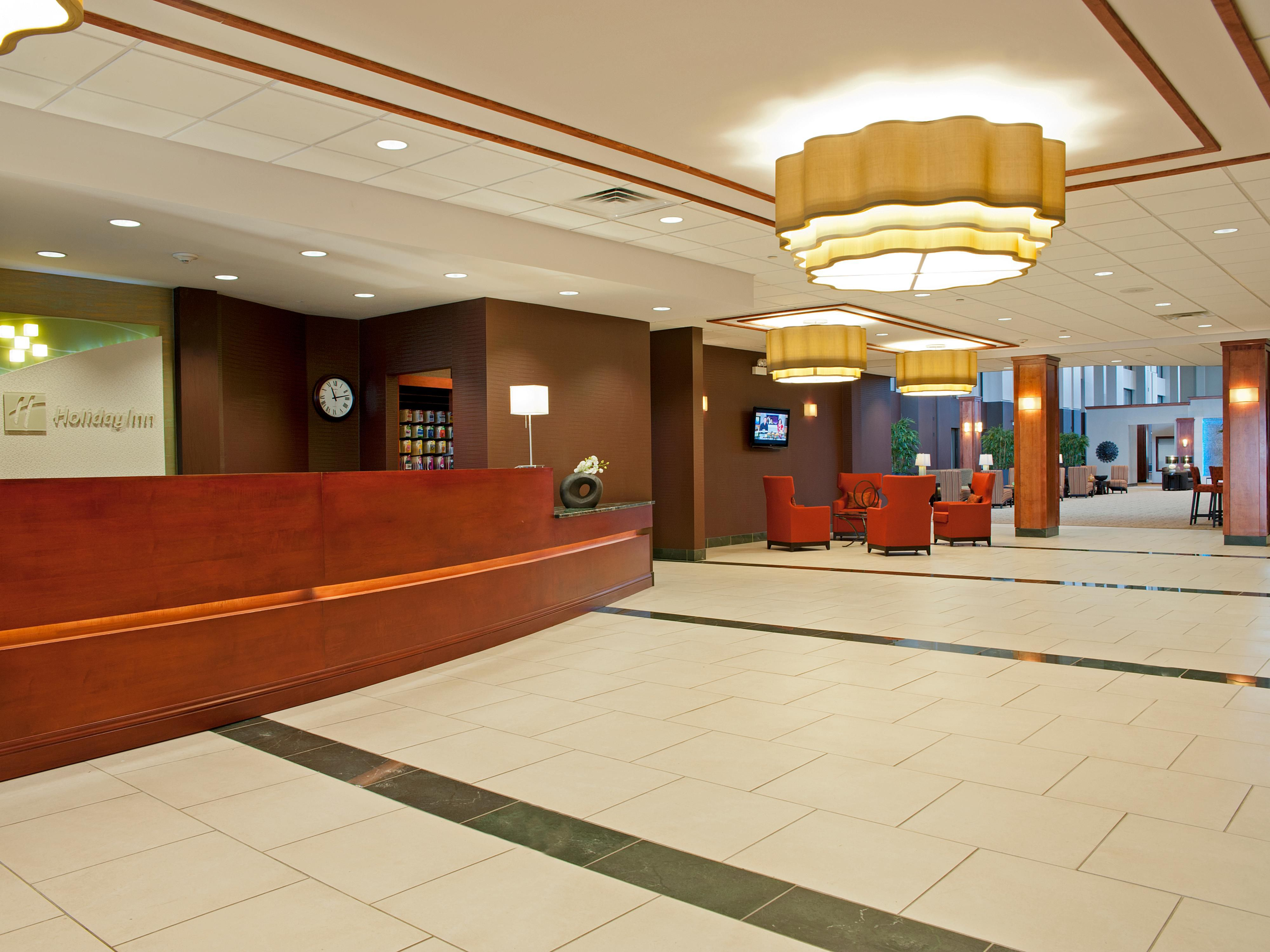 Welcome to the Holiday Inn Chicago West Itasca