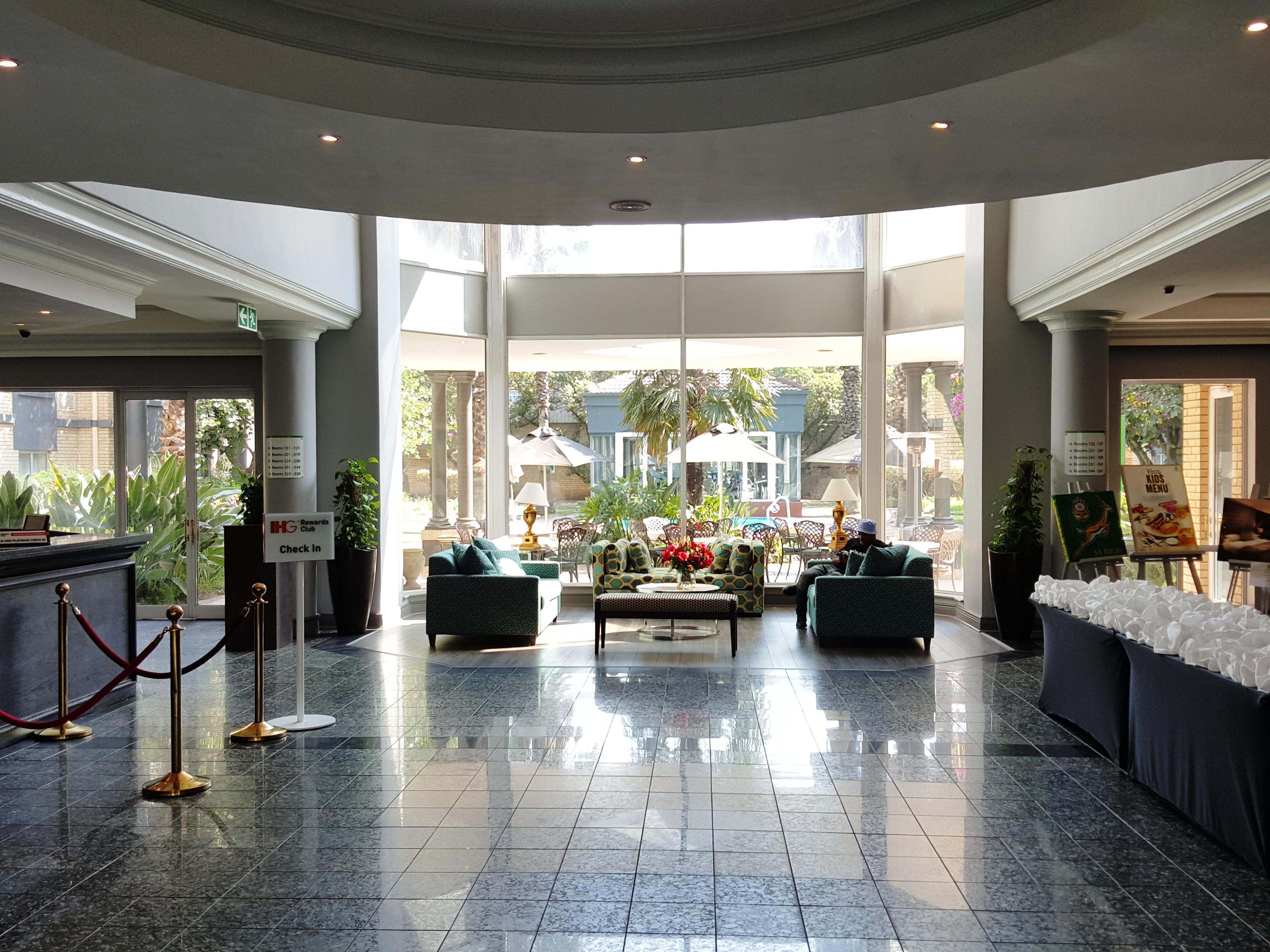 Aeroporto Johannesburg : Holiday inn johannesburg airport hotel by ihg