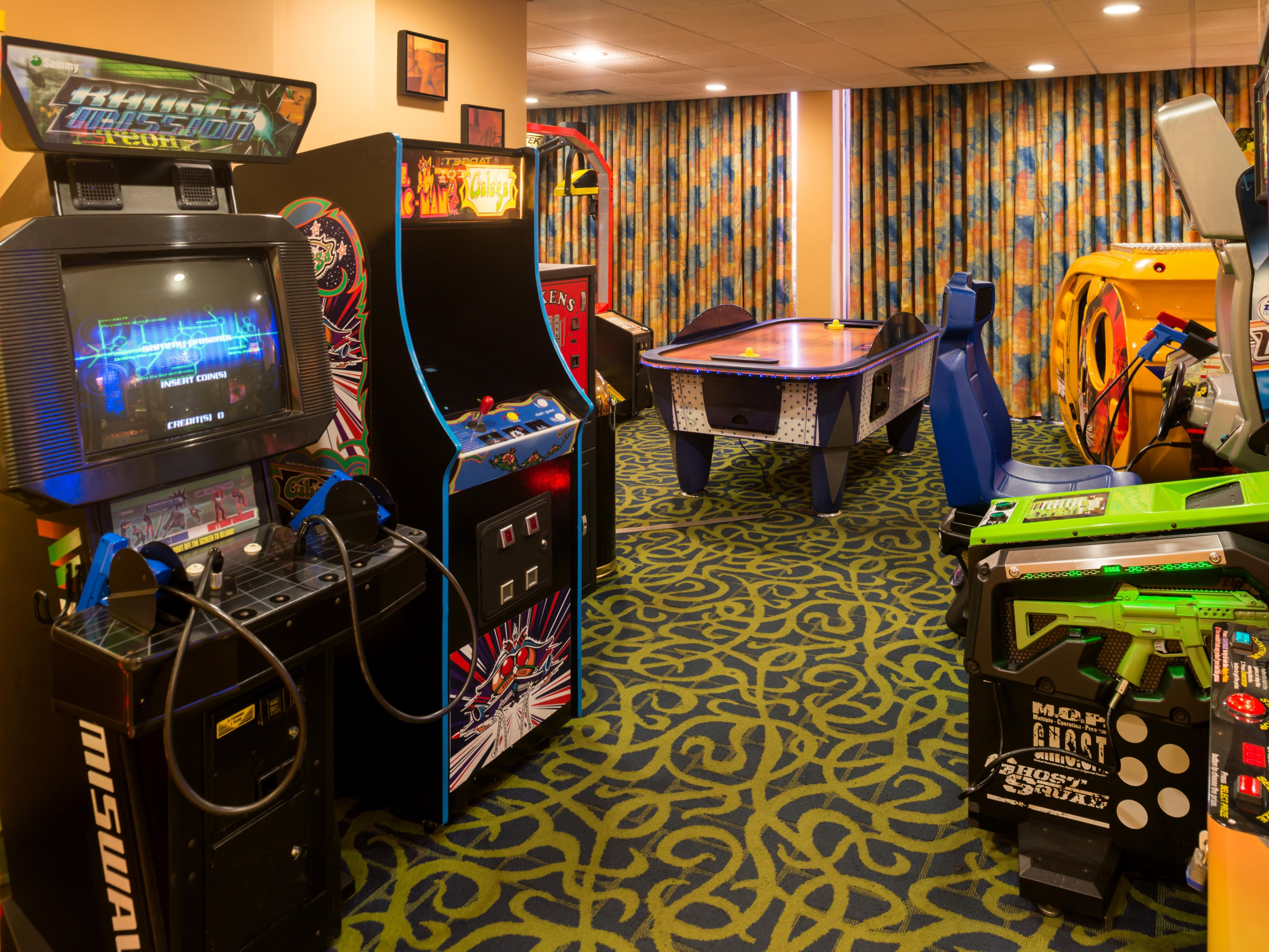 Lots of Fun Game Room