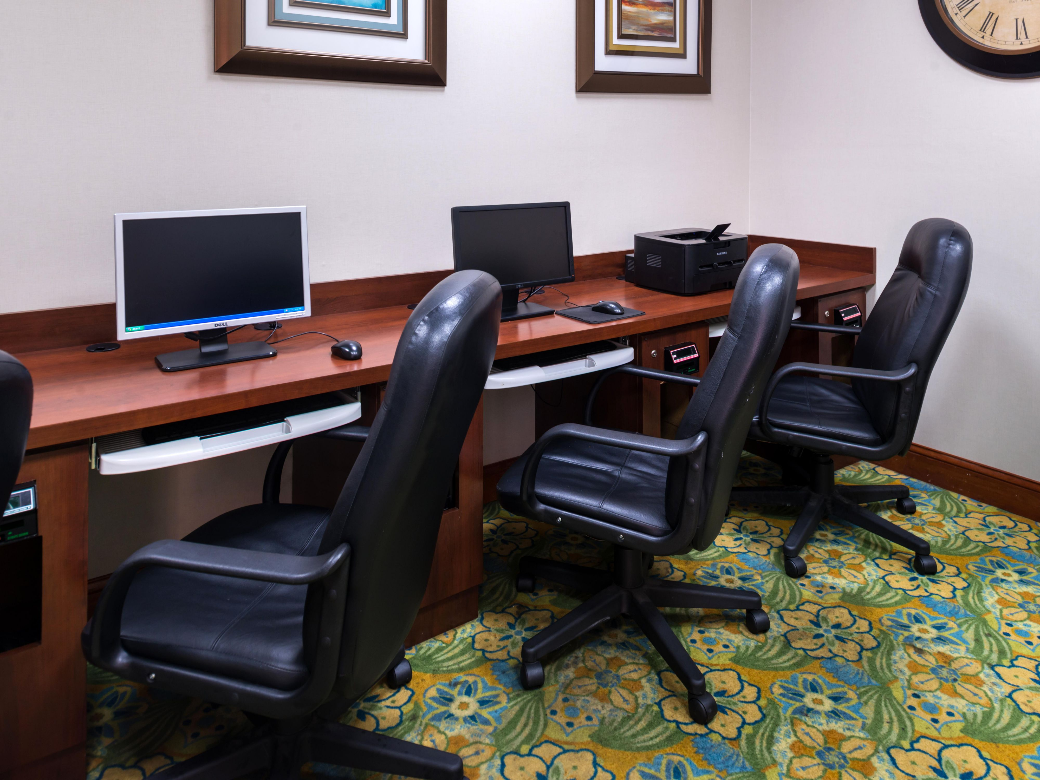 Print anything you need in our Business Center